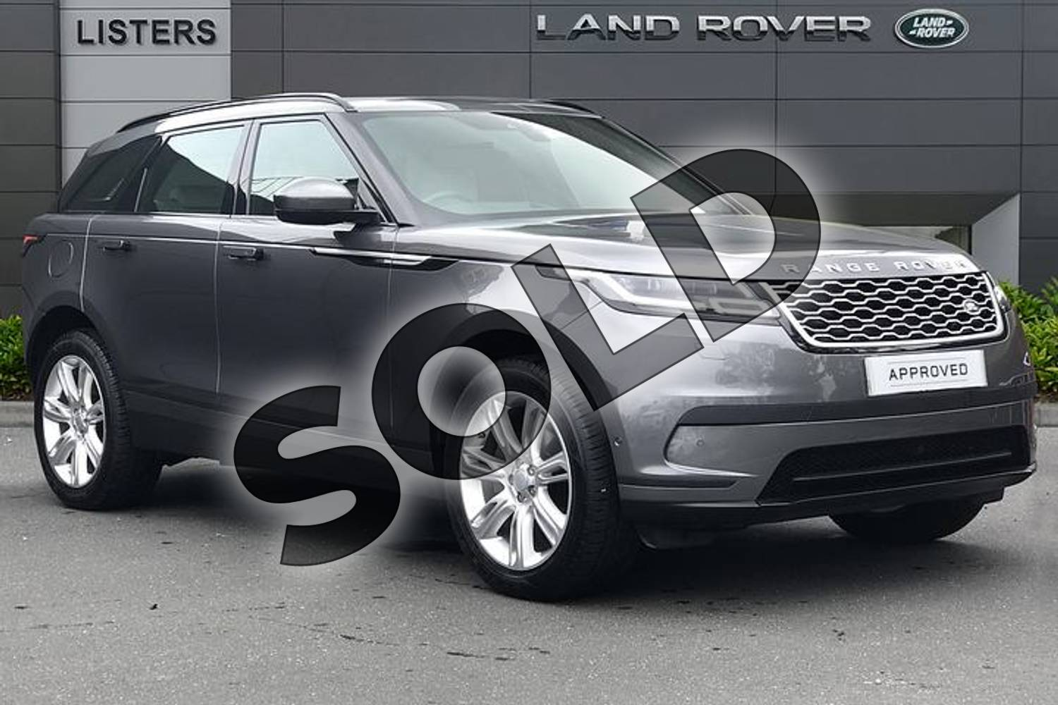 2019 Range Rover Velar Diesel Estate 2.0 D180 SE 5dr Auto in Corris Grey at Listers Land Rover Droitwich