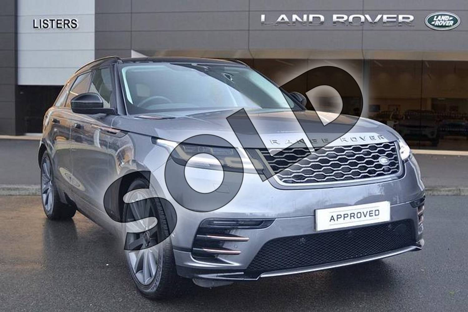 2017 Range Rover Velar Diesel Estate 2.0 D240 R-Dynamic HSE 5dr Auto in Corris Grey at Listers Land Rover Hereford