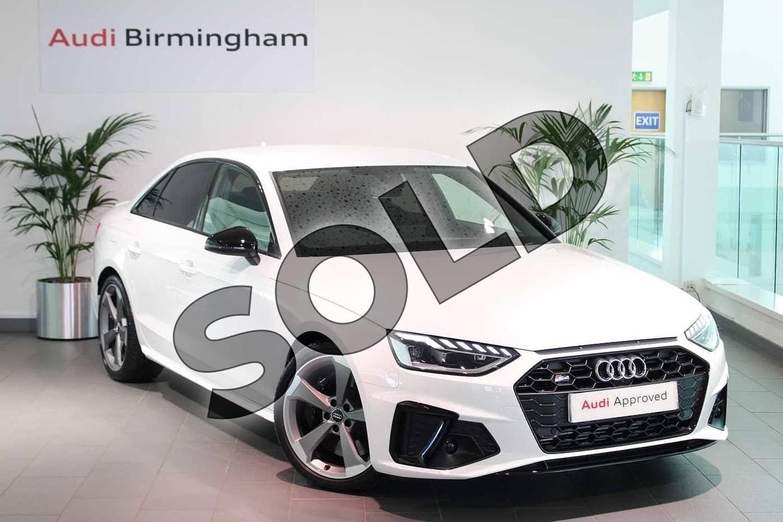 Audi A4 S4 Tdi Quattro Black Edition 4dr Tiptronic For Sale At Birmingham Audi Ref 034 U271851