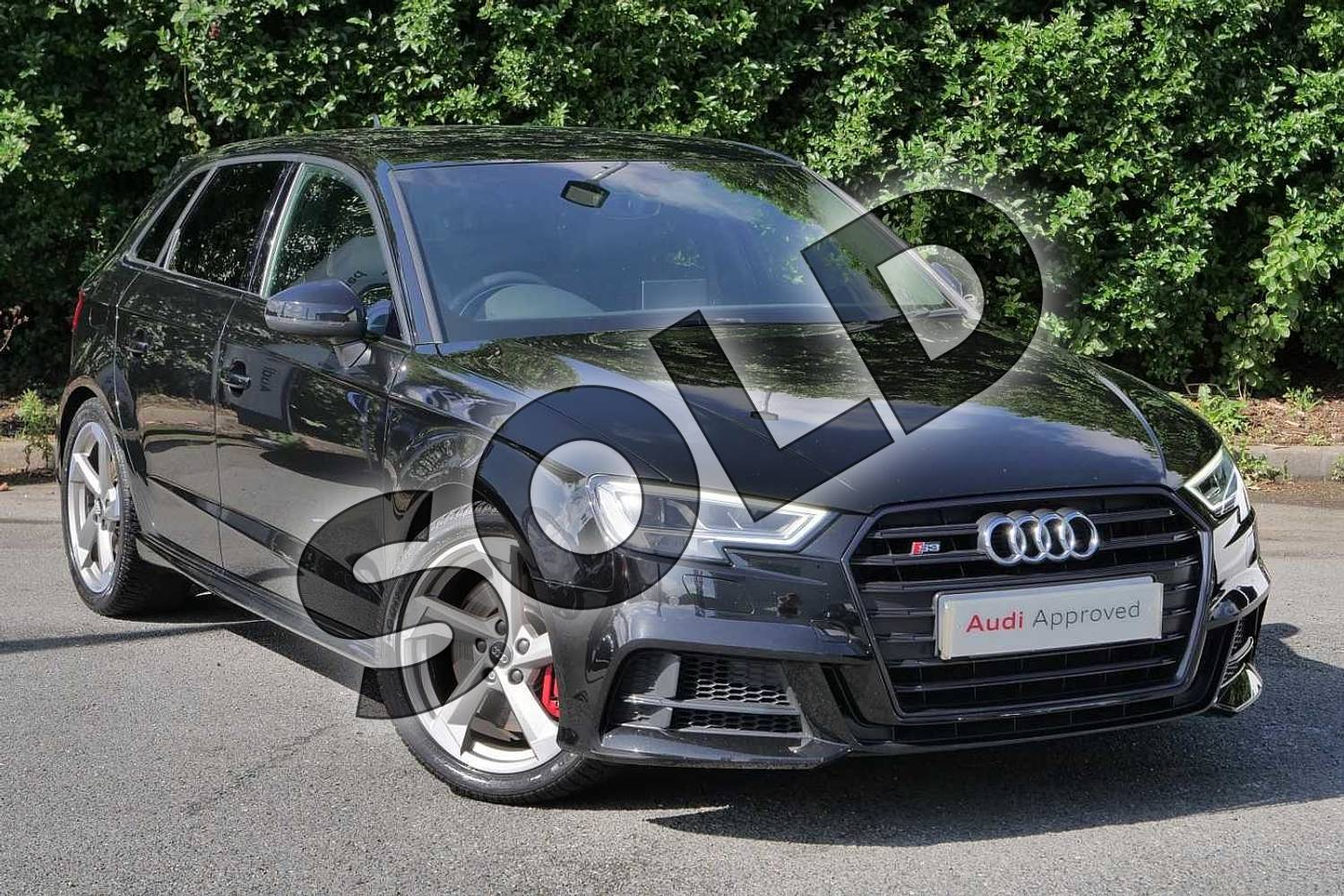 Audi A3 S3 Tfsi Quattro Black Edition 5dr S Tronic For Sale At Worcester Audi Ref 024 U461333