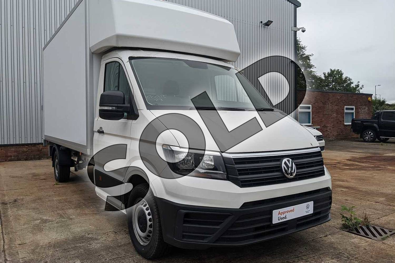 2020 Volkswagen Crafter CR35 LWB Diesel 2.0 TDI 177PS Startline Double Cab Chassis in Candy White at Listers Volkswagen Van Centre Worcestershire