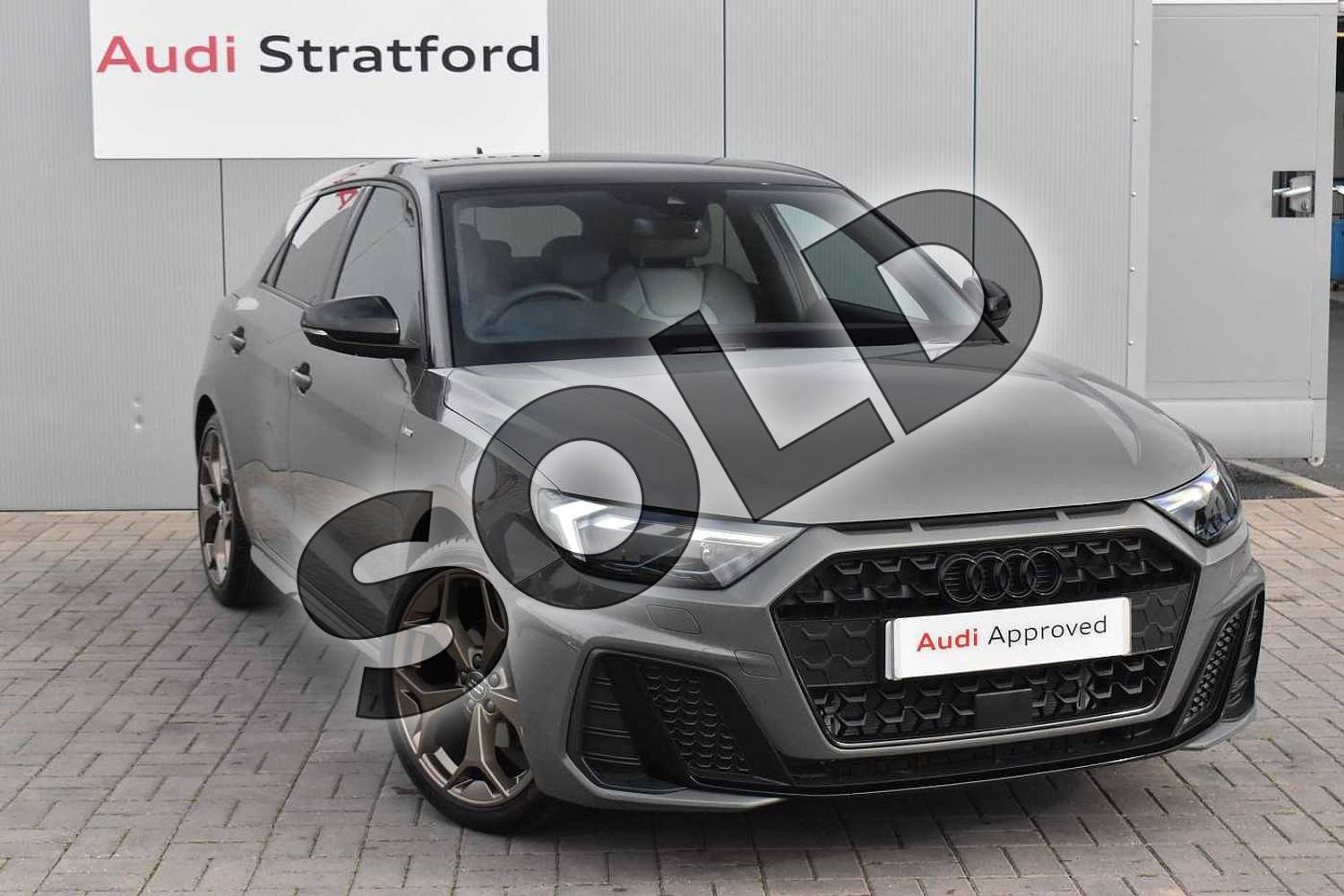 2020 Audi A1 Sportback Special Editions 35 TFSI S Line Style Edition 5dr S Tronic in Chronos Grey Metallic at Stratford Audi
