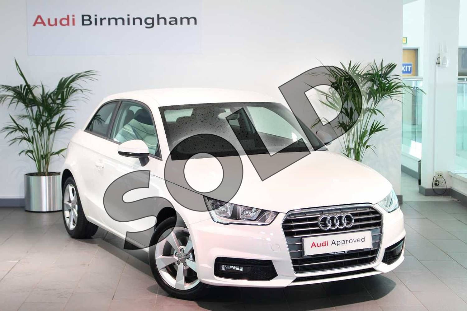 2017 Audi A1 Hatchback 1.4 TFSI Sport 3dr in Shell White at Birmingham Audi