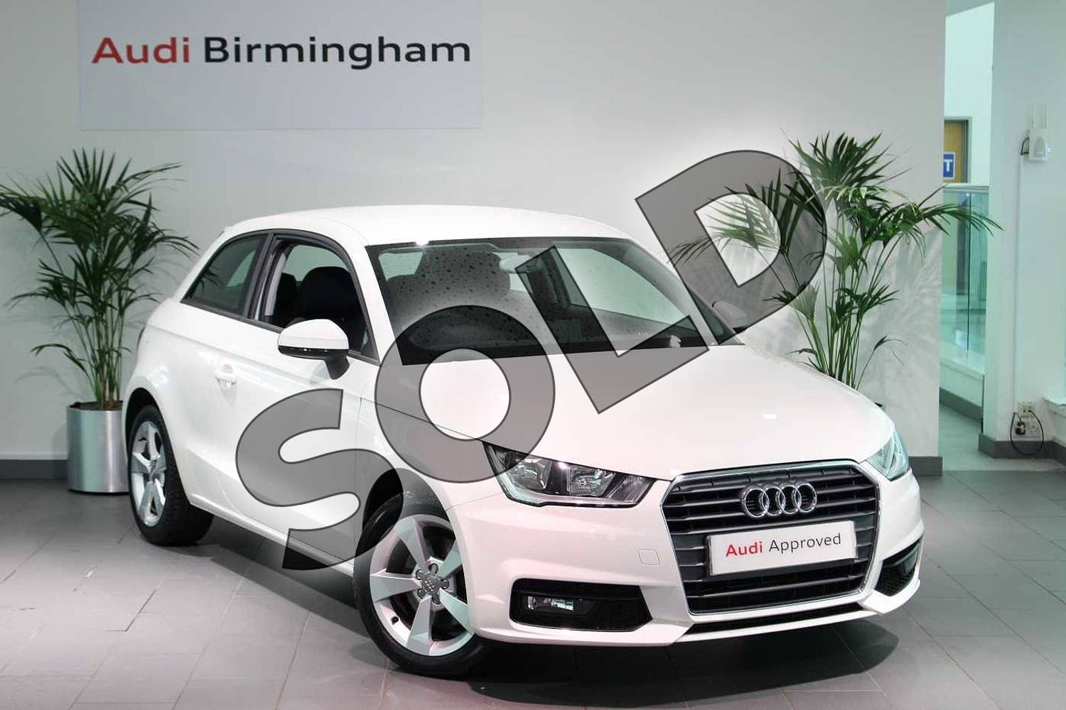 2016 Audi A1 Hatchback 1.4 TFSI Sport 3dr in Shell White at Birmingham Audi