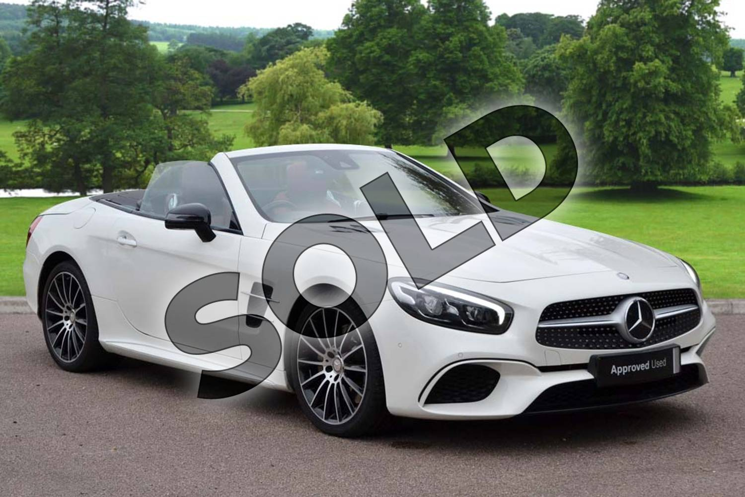 Mercedes-Benz SL Class SL 400 AMG Line 2dr 9G-Tronic for ...