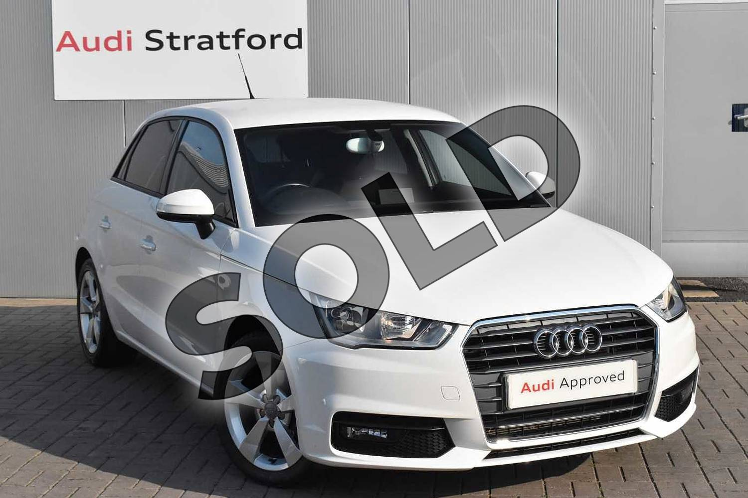 2016 Audi A1 Sportback 1.4 TFSI Sport 5dr in Shell White at Stratford Audi