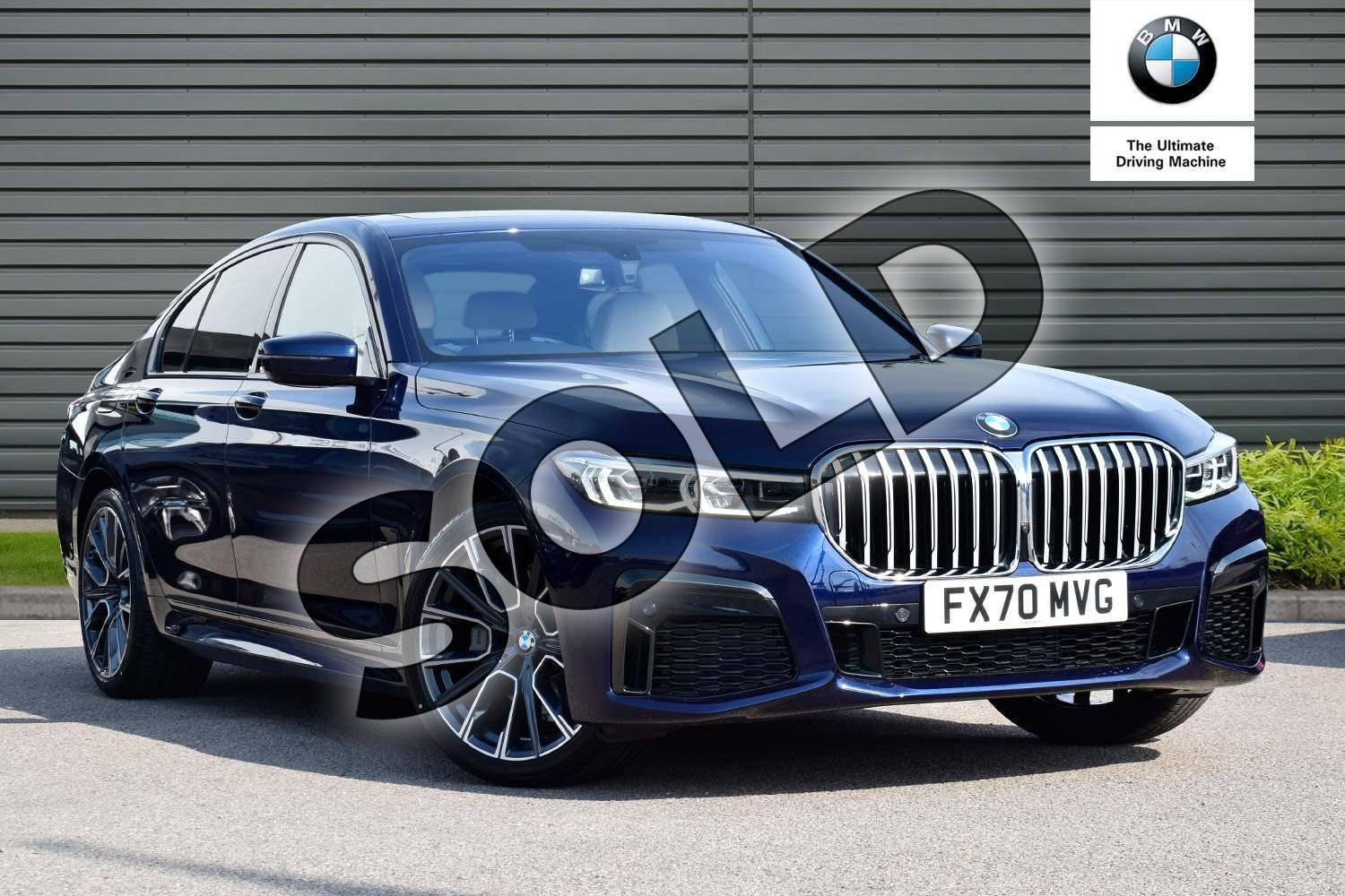 Bmw 7 Series 730d M Sport 4dr Auto For Sale At Listers Boston Bmw Ref 006 U076367