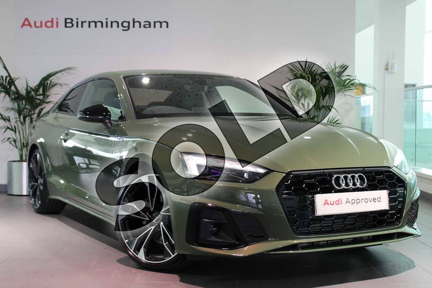 2020 Audi A5 Coupe Special Editions 40 TFSI Edition 1 2dr S Tronic in District Green Metallic at Birmingham Audi