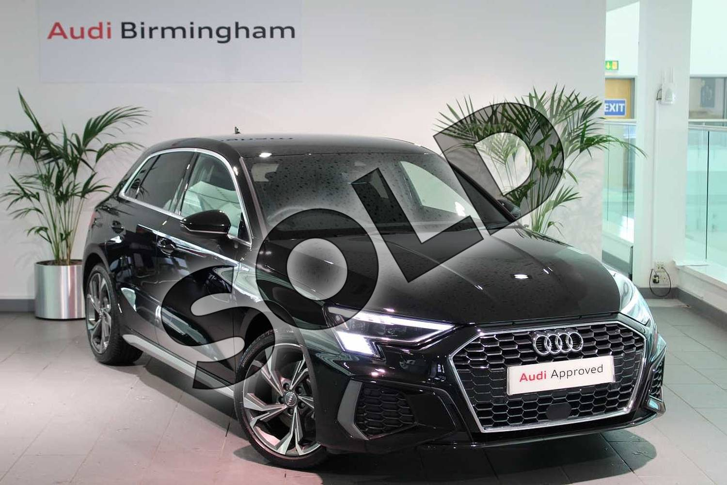 Audi A3 35 Tfsi S Line 5dr For Sale At Birmingham Audi Ref 034 U272172