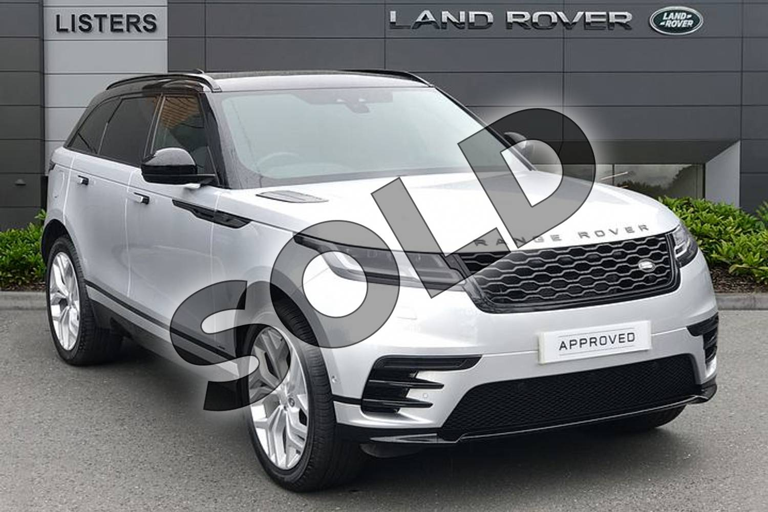 2020 Range Rover Velar Diesel Estate 2.0 D180 R-Dynamic SE 5dr Auto in Indus Silver at Listers Land Rover Solihull
