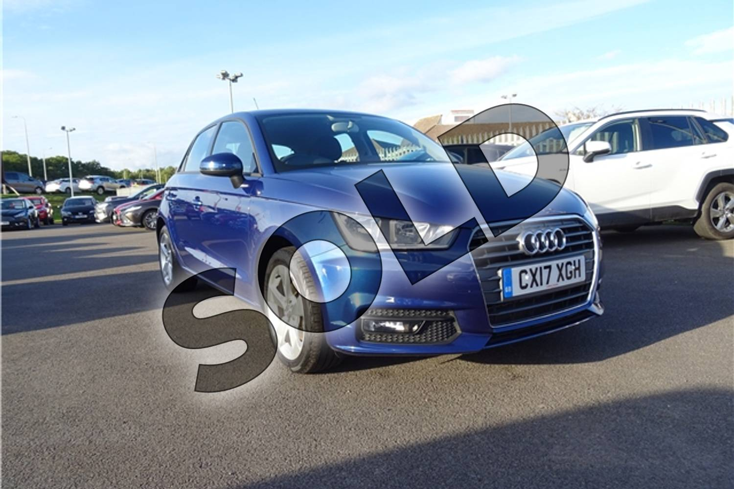2017 Audi A1 Sportback 1.4 TFSI Sport 5dr in Metallic - Utopia blue at Listers Toyota Lincoln