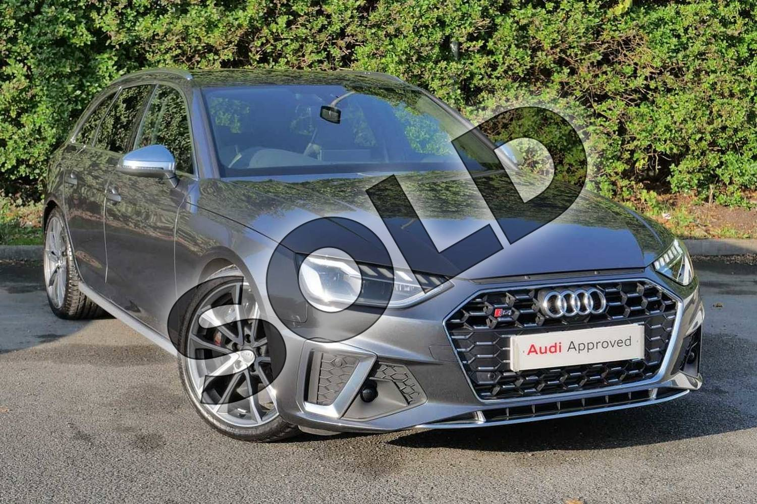 2020 Audi A4 Diesel Avant S4 TDI Quattro 5dr Tiptronic in Daytona Grey Pearlescent at Worcester Audi