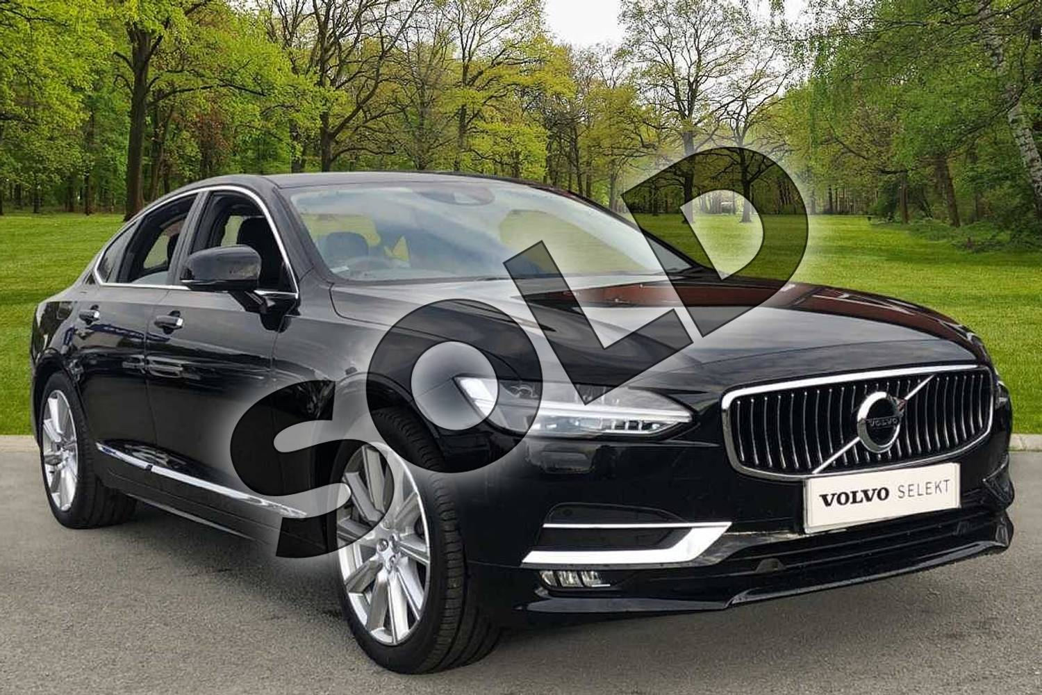 2020 Volvo S90 Diesel Saloon 2.0 D5 Inscription Plus 4dr AWD Geartronic in Onyx Black at Listers Volvo Worcester
