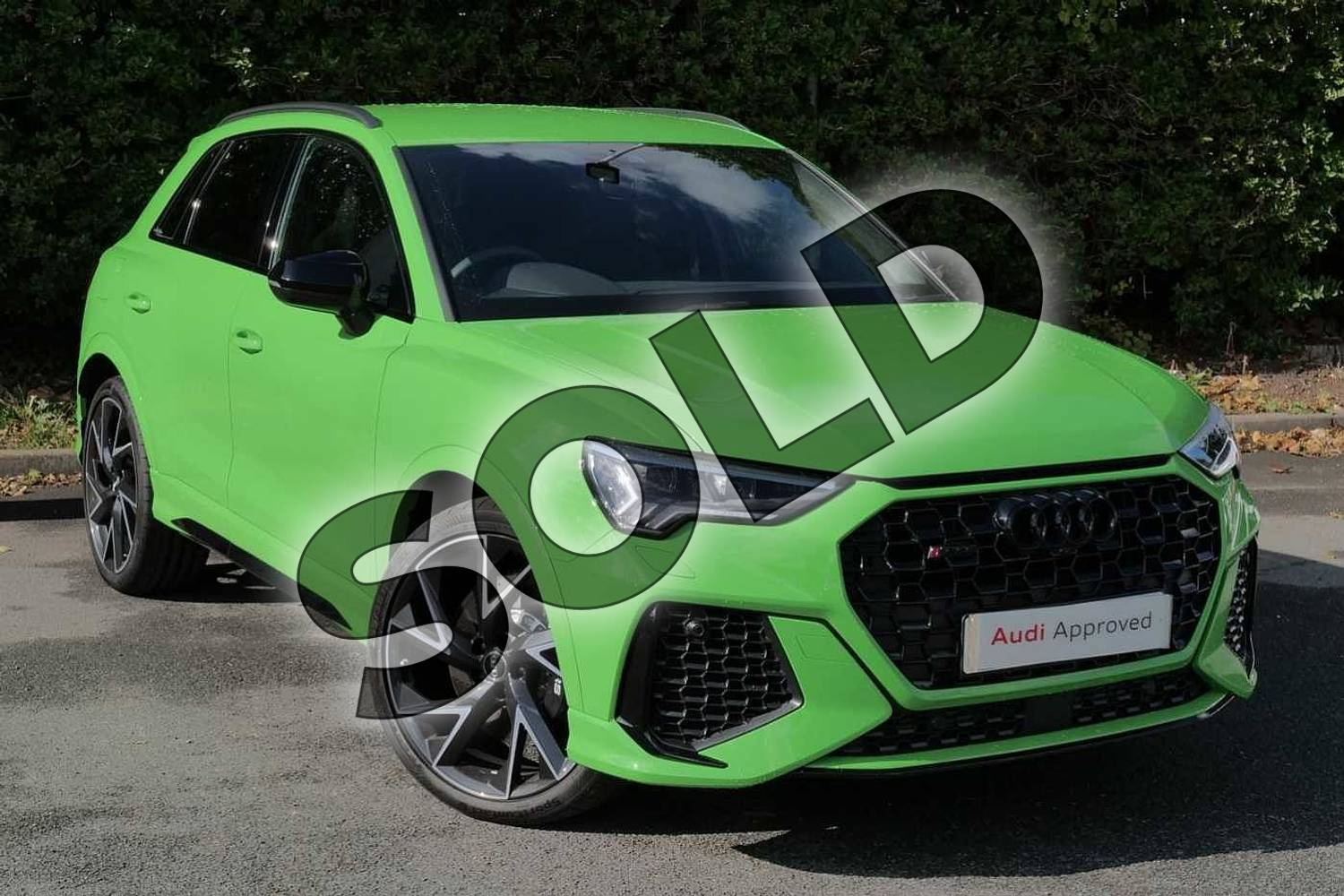 Audi Rs Q3 Rs Q3 Tfsi Quattro 5dr S Tronic For Sale At Worcester Audi Ref 024 U461589
