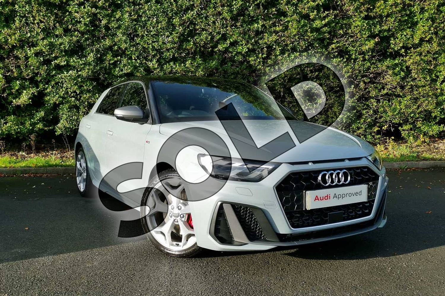 2020 Audi A1 Sportback 40 TFSI S Line Competition 5dr S Tronic in Arrow Grey Pearlescent at Worcester Audi