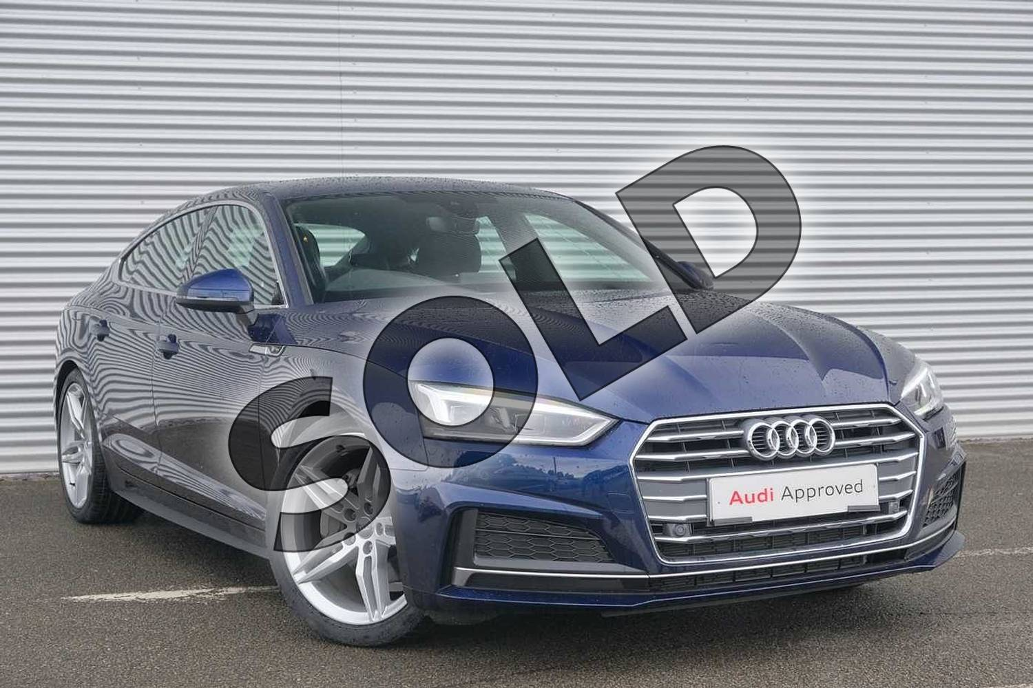 Audi A5 40 Tdi S Line 5dr S Tronic For Sale At Coventry Audi Ref 021 U167725