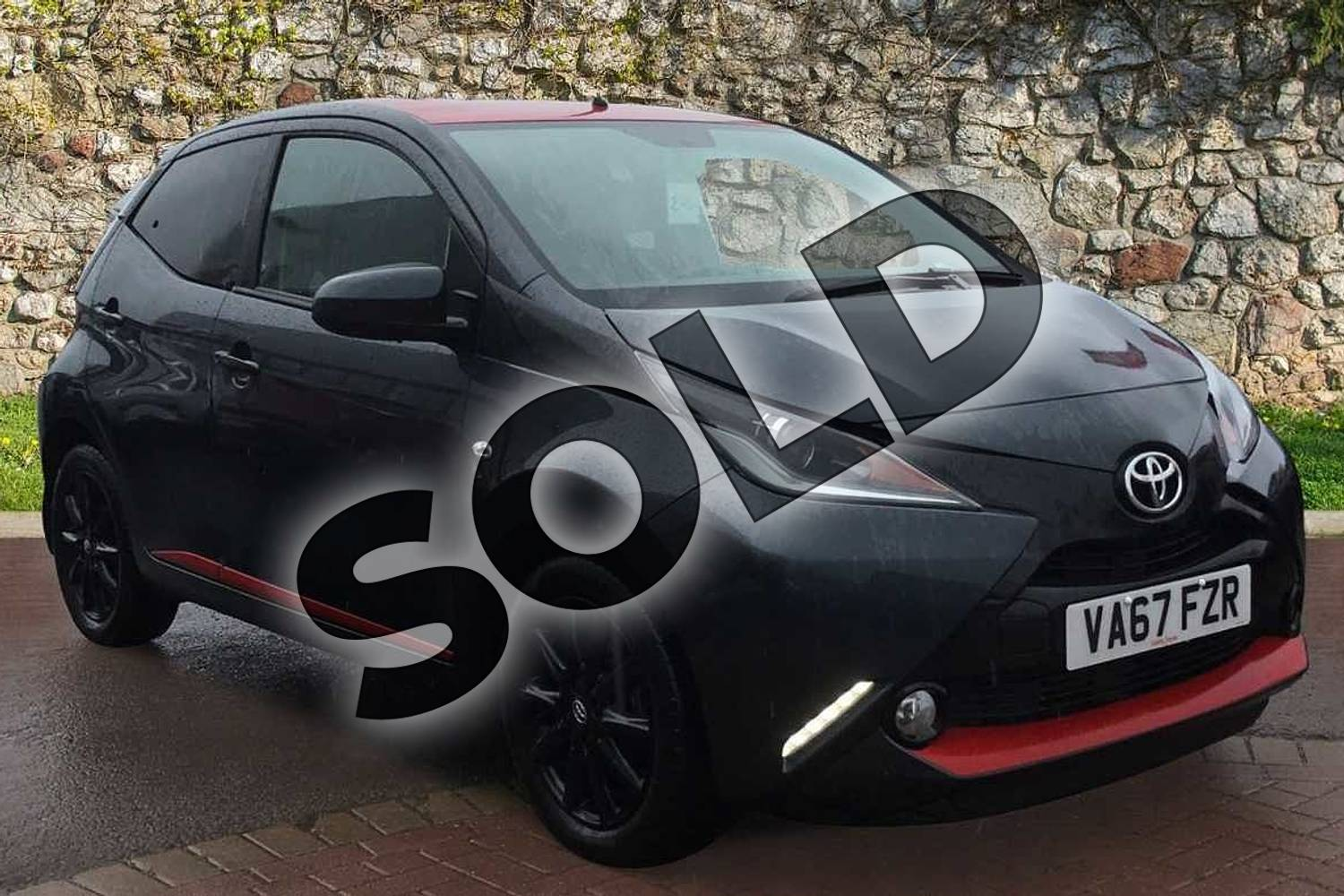 2018 Toyota AYGO Hatchback 1.0 VVT-i X-Press 5dr in Electro Grey at Listers Toyota Grantham
