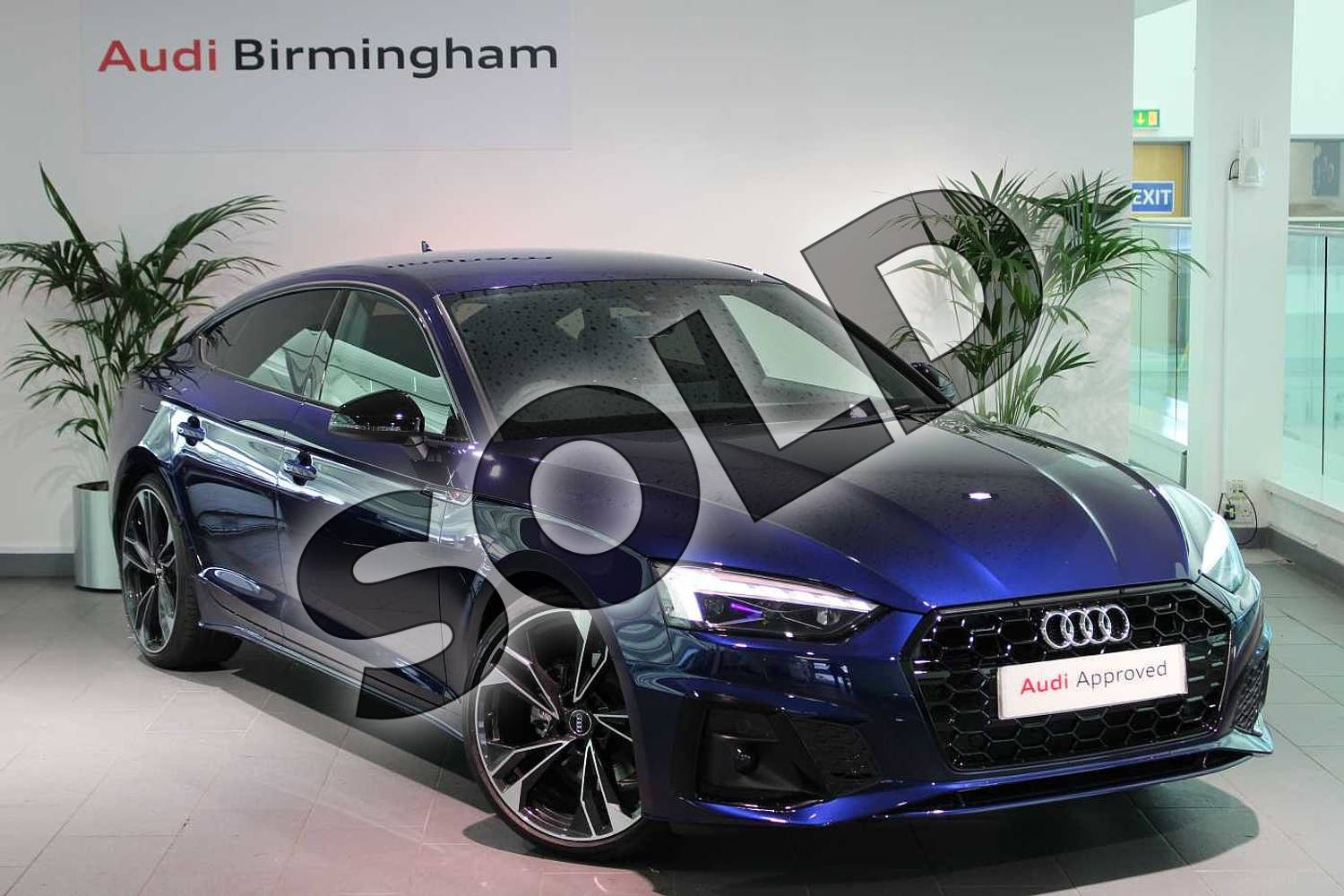 Audi A5 35 Tdi Edition 1 5dr S Tronic For Sale At Birmingham Audi Ref 034 U272292