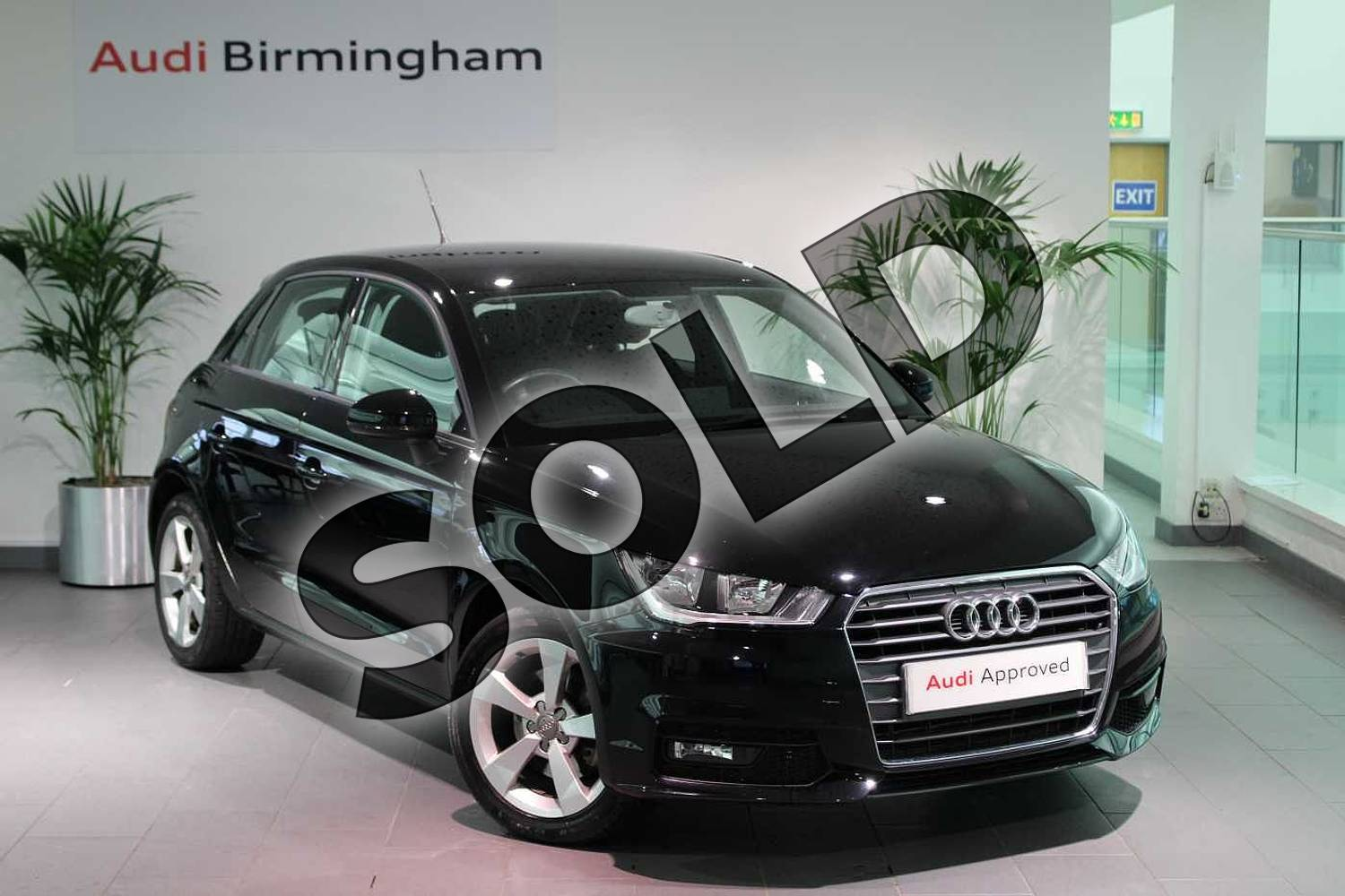 2015 Audi A1 Sportback 1.4 TFSI Sport 5dr in Brilliant Black at Birmingham Audi
