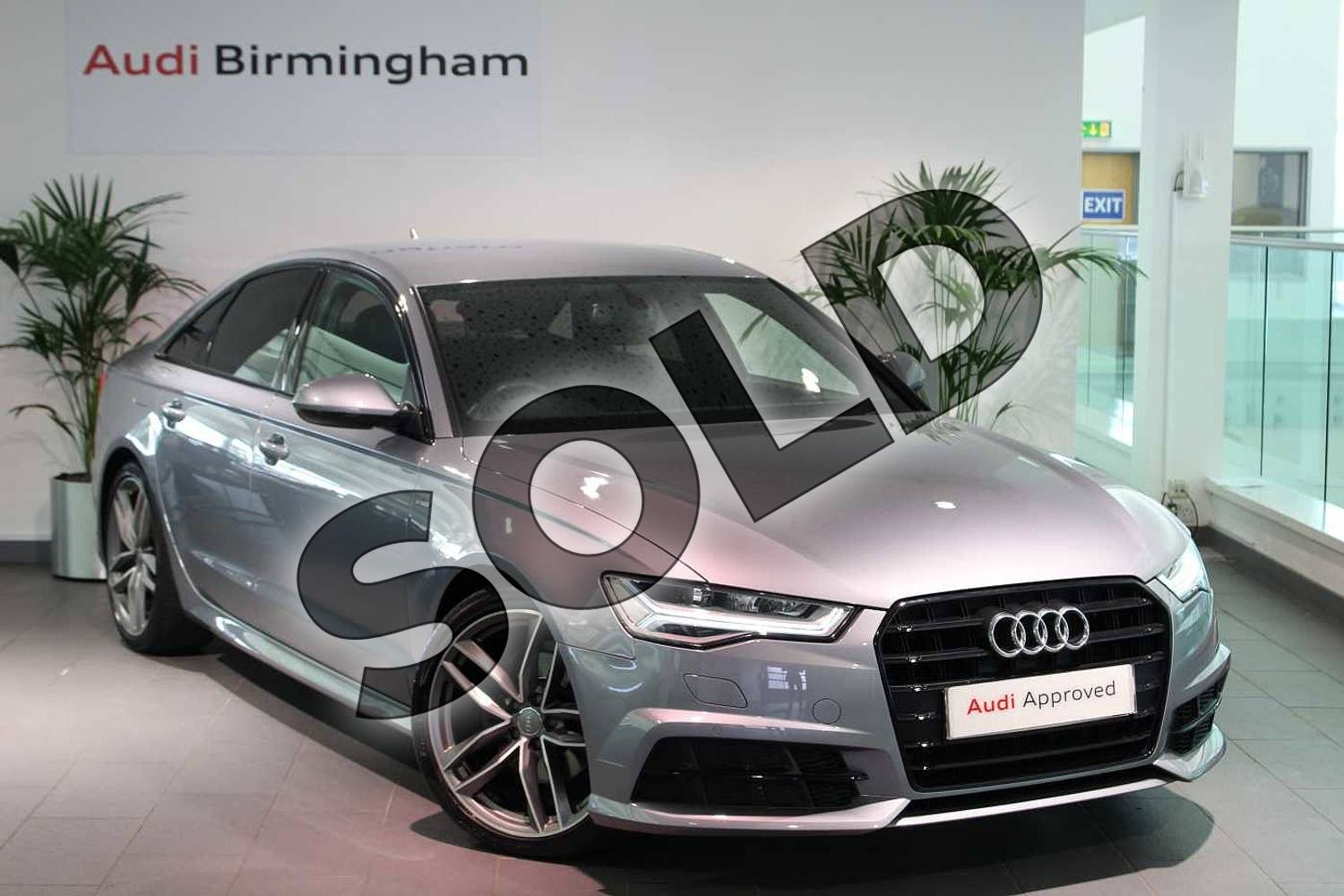 2017 Audi A6 Saloon Special Editions 2.0 TDI Ultra Black Edition 4dr S Tronic in Tornado Grey Metallic at Birmingham Audi