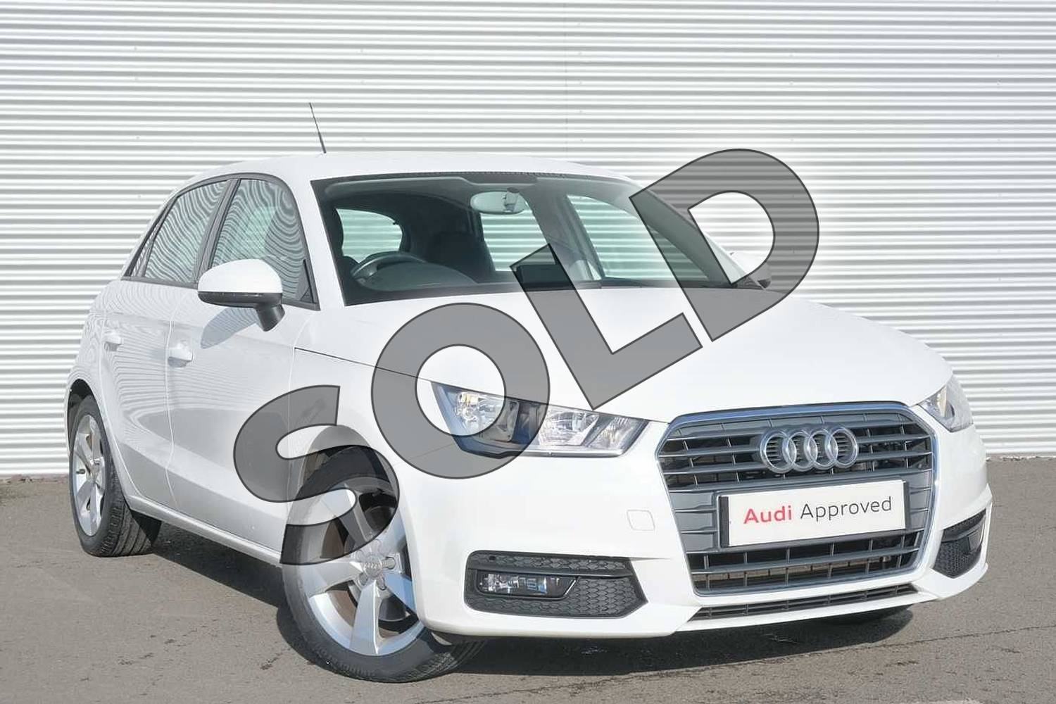 2017 Audi A1 Sportback 1.4 TFSI Sport 5dr in Shell White at Coventry Audi