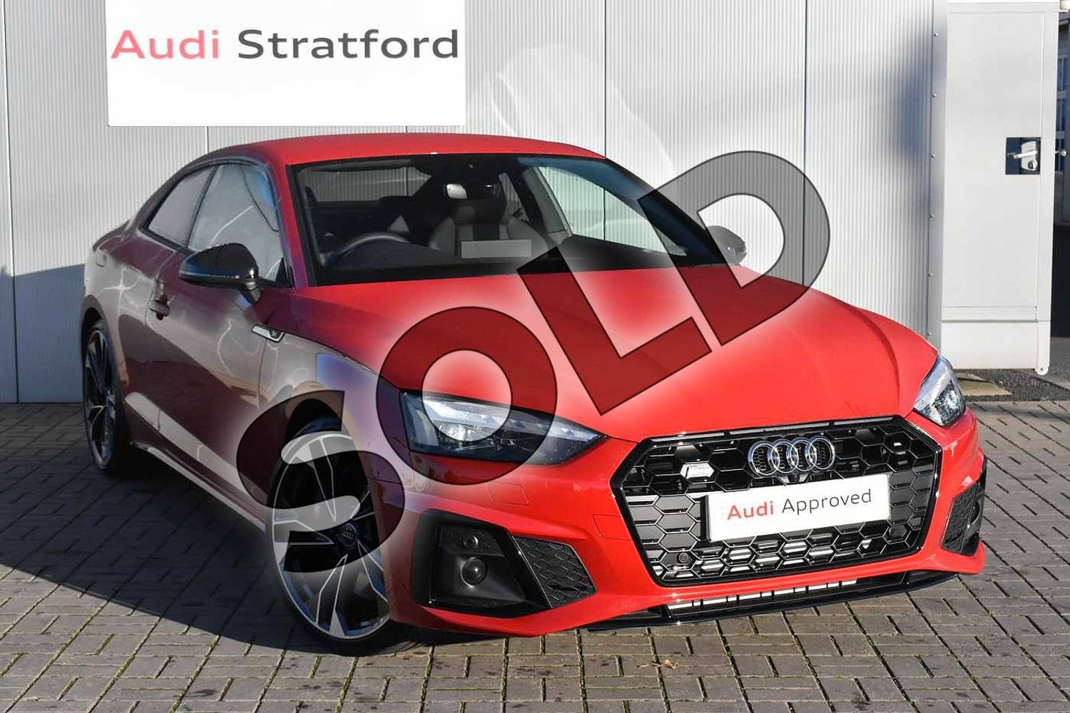 2020 Audi A5 Coupe Special Editions S5 TDI Quattro Edition 1 2dr Tiptronic in Tango Red Metallic at Stratford Audi