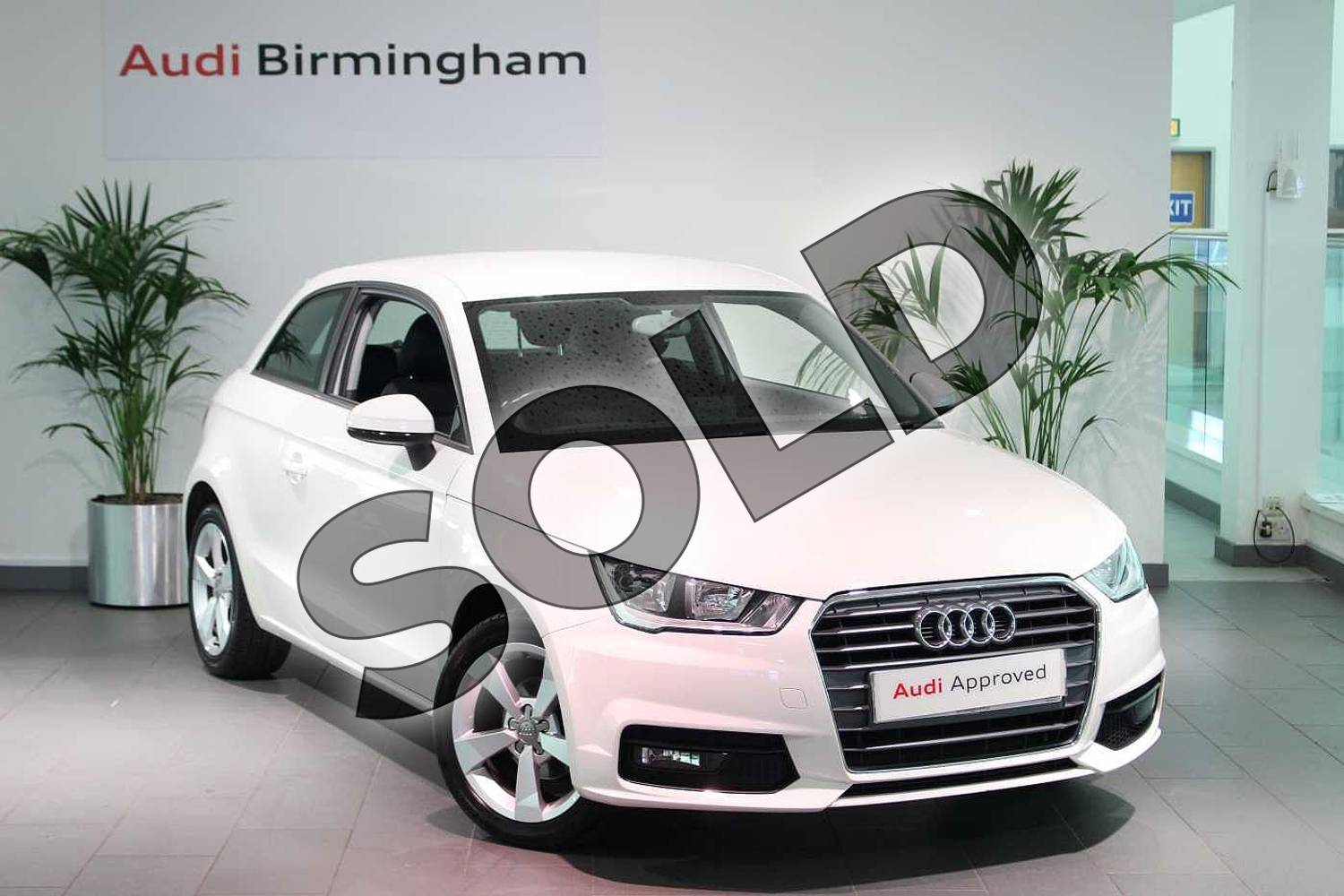 2017 Audi A1 Hatchback 1.0 TFSI Sport 3dr in Shell White at Birmingham Audi