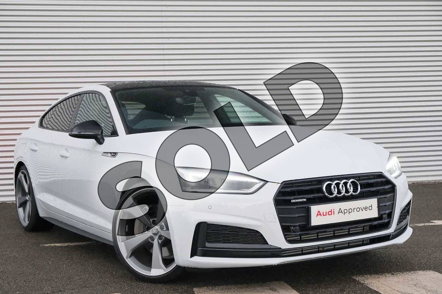 Audi A5 45 Tfsi Quattro Black Edition 5dr S Tronic For Sale At Coventry Audi Ref 021 U167878