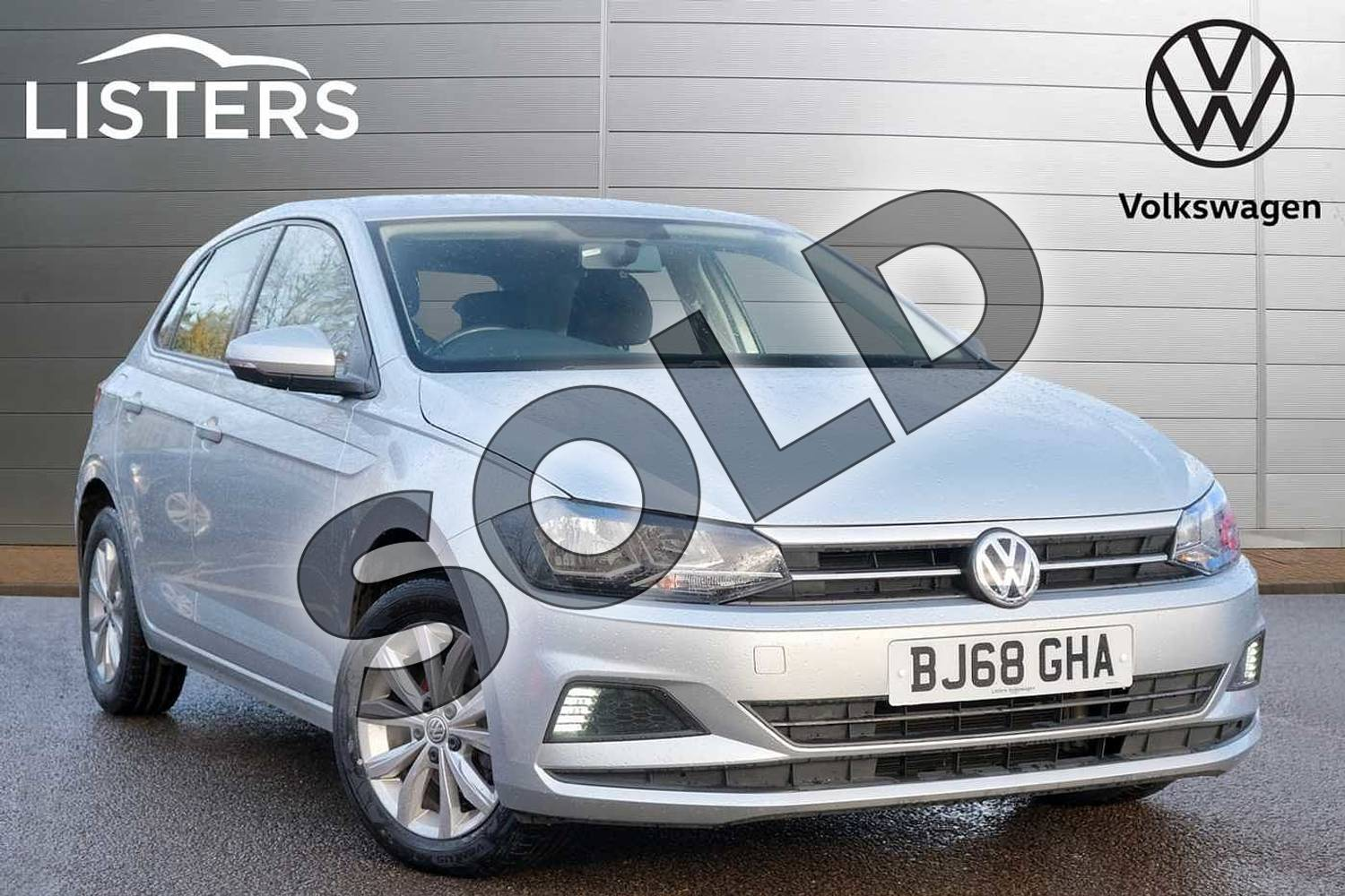 2018 Volkswagen Polo Hatchback 1.0 TSI 95 SE 5dr in Reflex Silver at Listers Volkswagen Leamington Spa