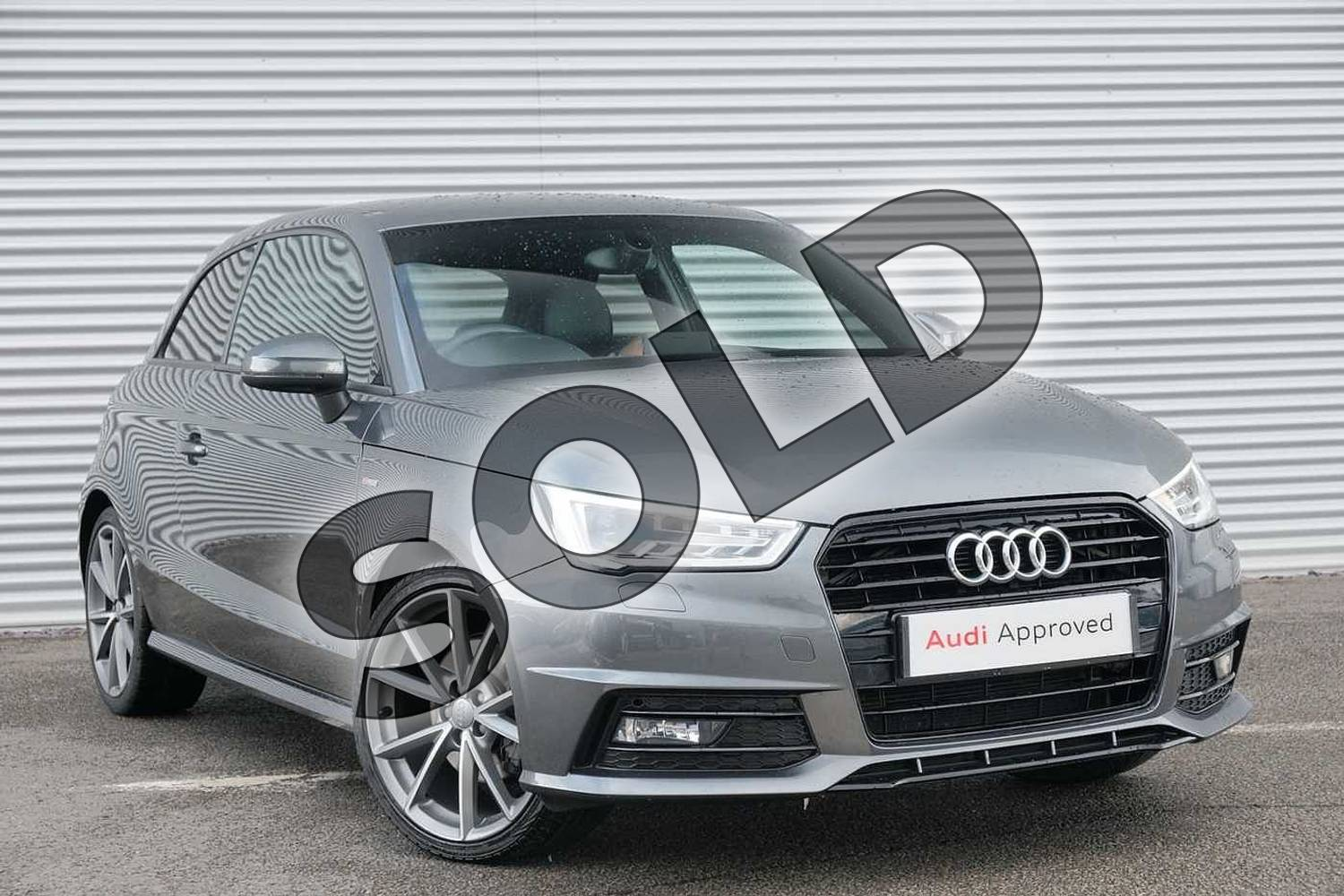 2017 Audi A1 Hatchback Special Editions 1.6 TDI Black Edition 3dr in Daytona Grey Pearlescent at Coventry Audi