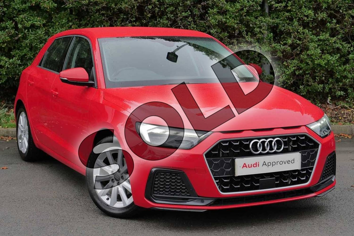 2018 Audi A1 Sportback 30 TFSI Sport 5dr in Misano Red Pearlescent at Worcester Audi