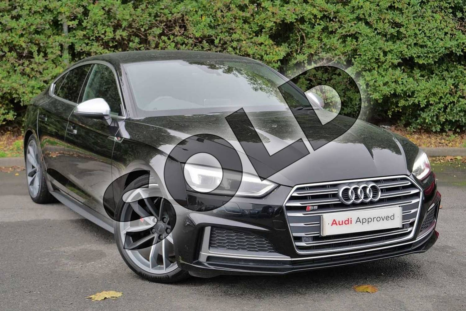2017 Audi A5 Sportback S5 Quattro 5dr Tiptronic in Myth Black Metallic at Worcester Audi