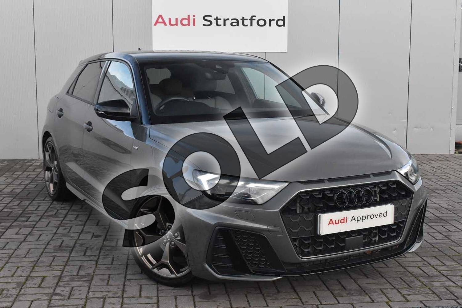 2019 Audi A1 Sportback Special Editions 35 TFSI S Line Style Edition 5dr S Tronic in Chronos Grey Metallic at Stratford Audi