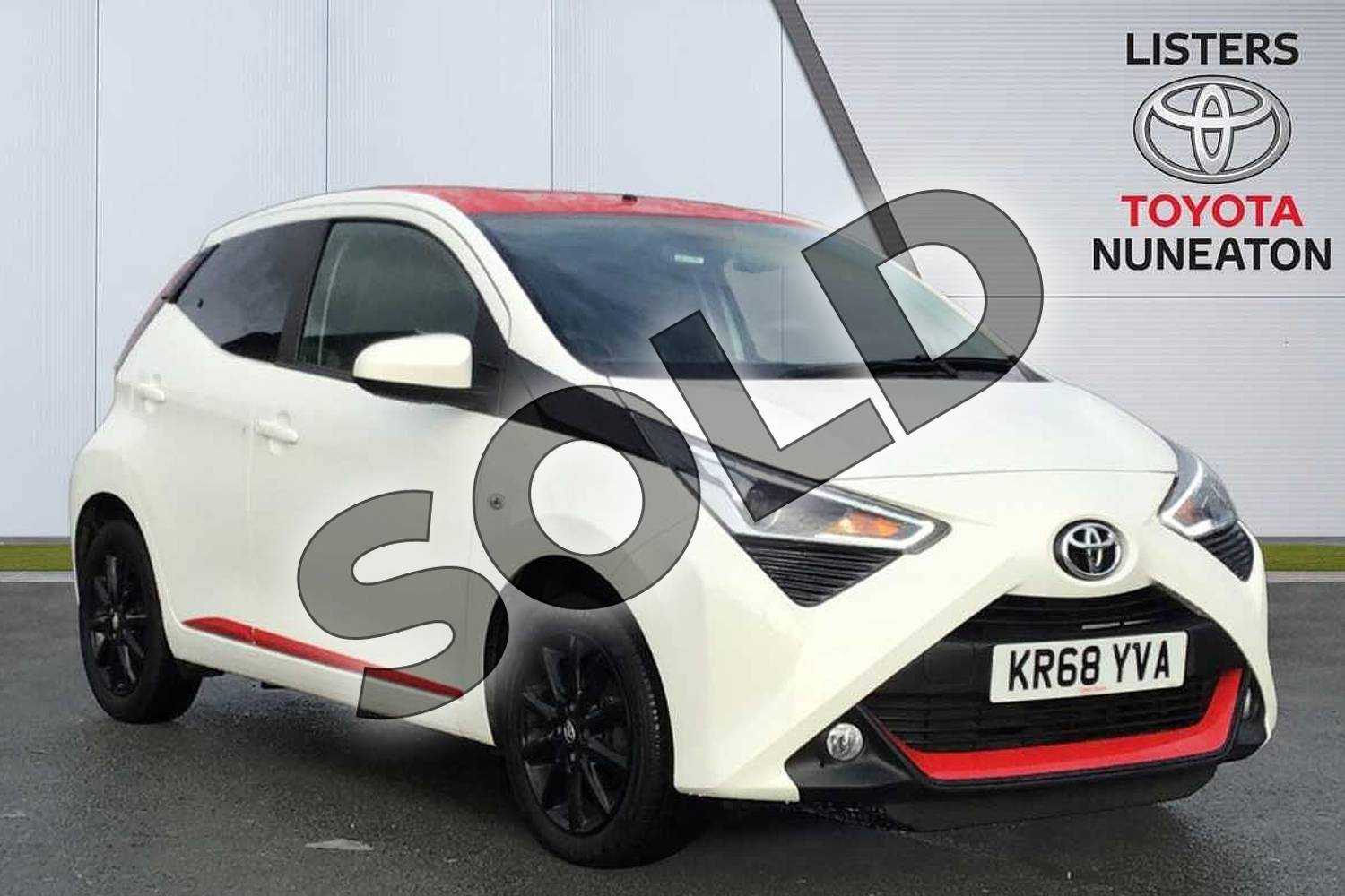 2018 Toyota Aygo Hatchback 1.0 VVT-i X-Press 5dr in White at Listers Toyota Nuneaton