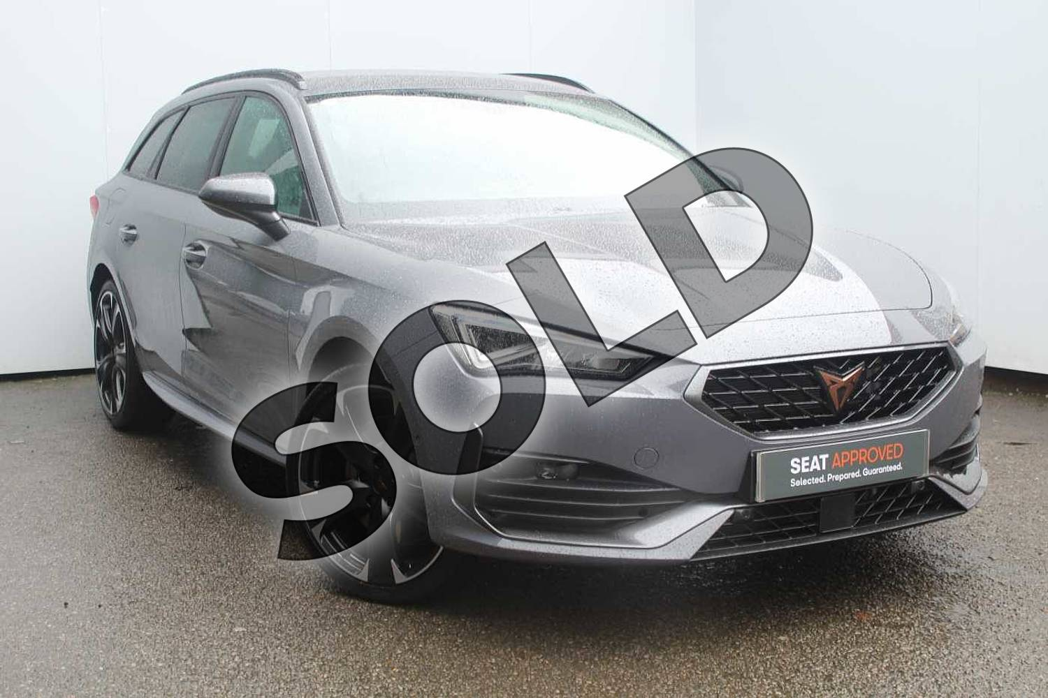 2020 SEAT Leon CUPRA 1.4 eHybrid First Edition 5dr DSG in Grey at Listers SEAT Worcester