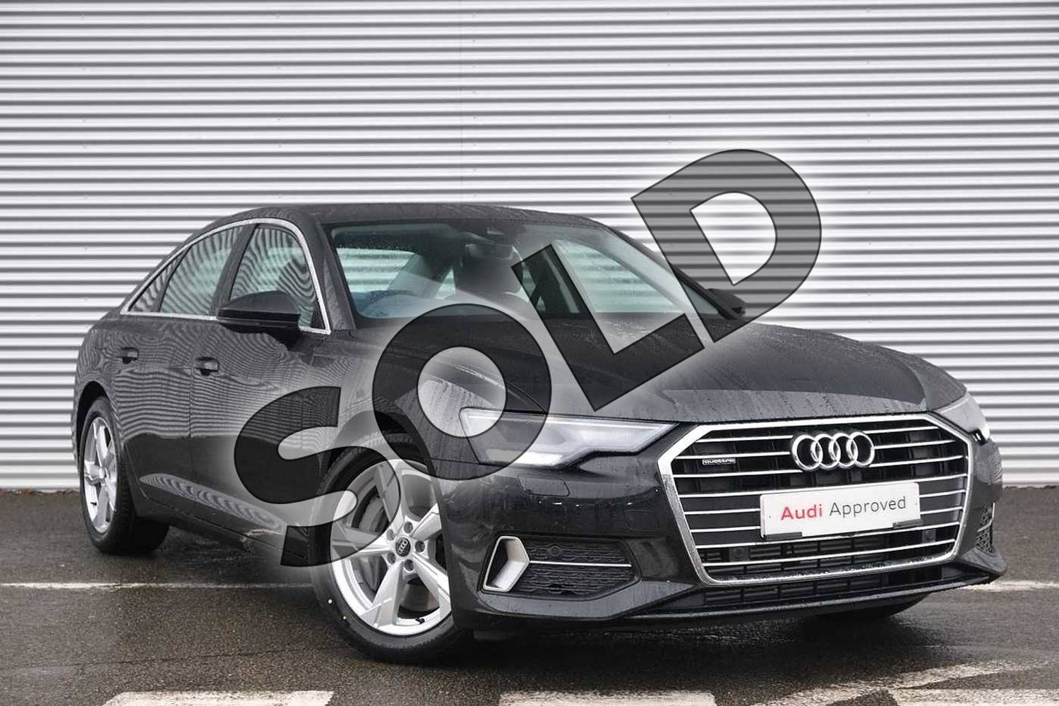 2020 Audi A6 Saloon 50 TFSI e Quattro Sport 4dr S Tronic in Vesuvius Grey Metallic at Coventry Audi