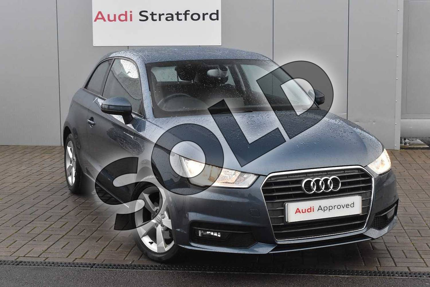2017 Audi A1 Hatchback 1.4 TFSI Sport 3dr in Utopia Blue Metallic at Stratford Audi