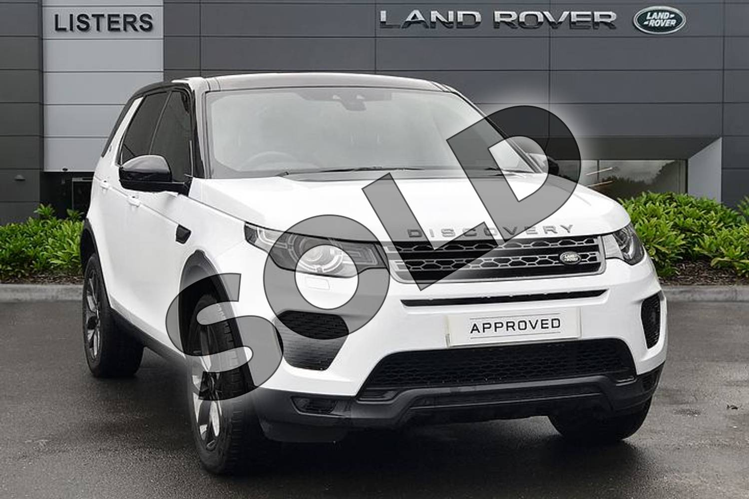 2019 Land Rover Discovery Sport 2.0 TD4 (180hp) Landmark in Yulong White at Listers Land Rover Droitwich
