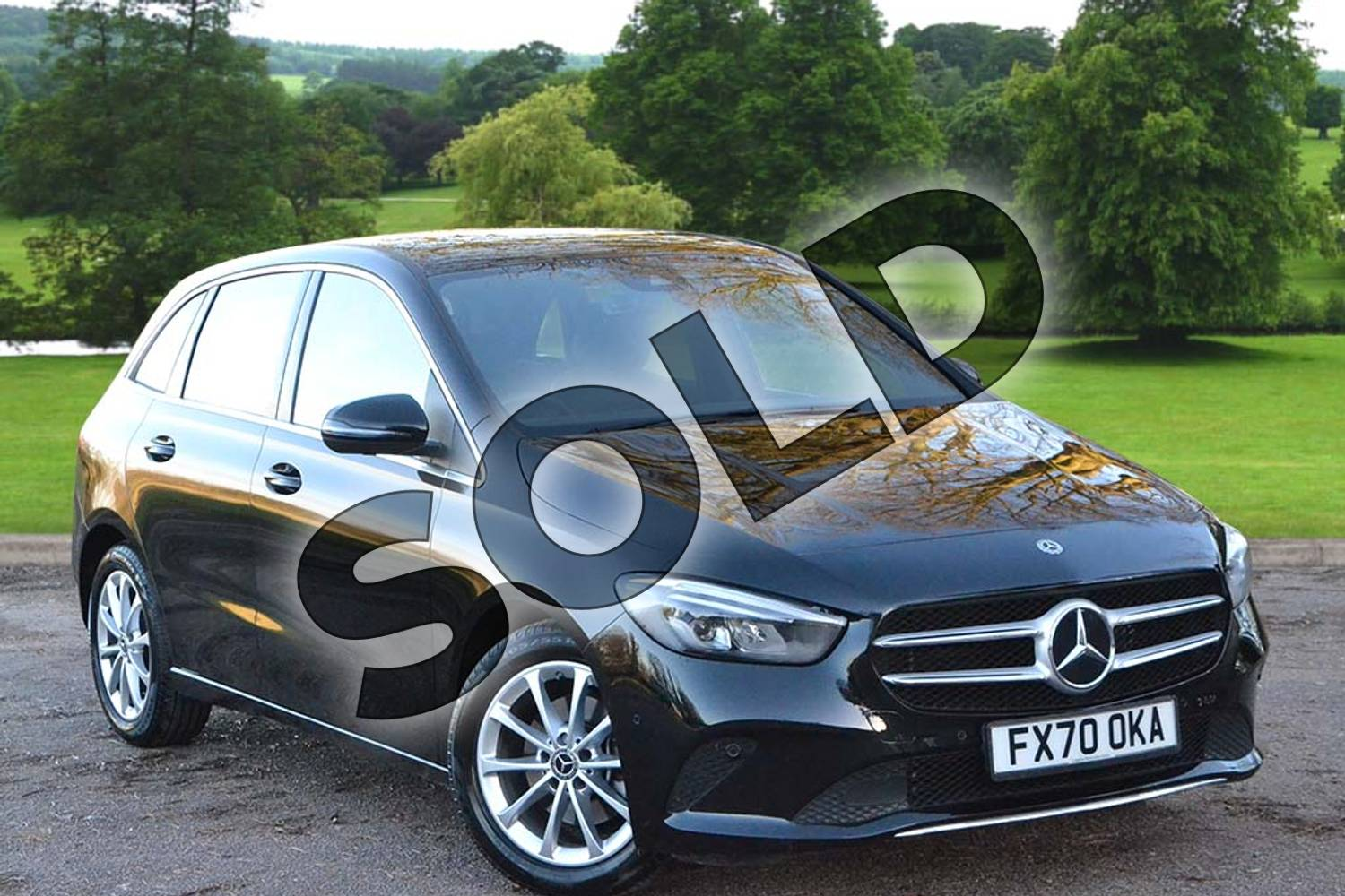 2021 Mercedes-Benz B Class Diesel Hatchback B200d Sport Executive 5dr Auto in Cosmos Black Metallic at Mercedes-Benz of Grimsby