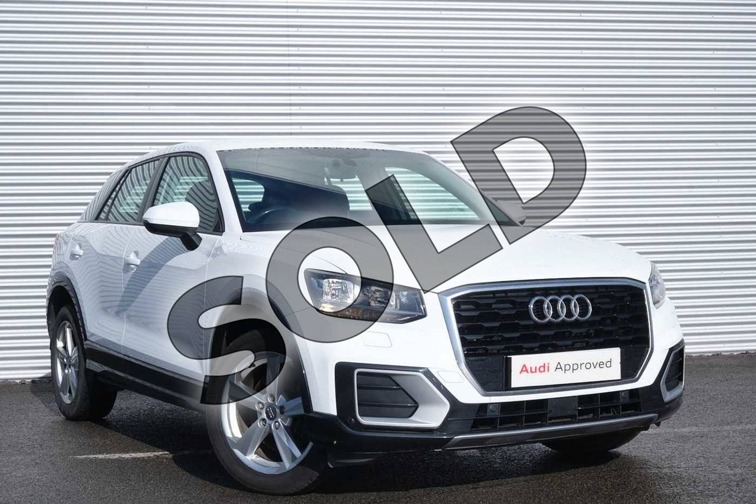 2017 Audi Q2 Estate 1.0 TFSI Sport 5dr in Ibis White at Coventry Audi