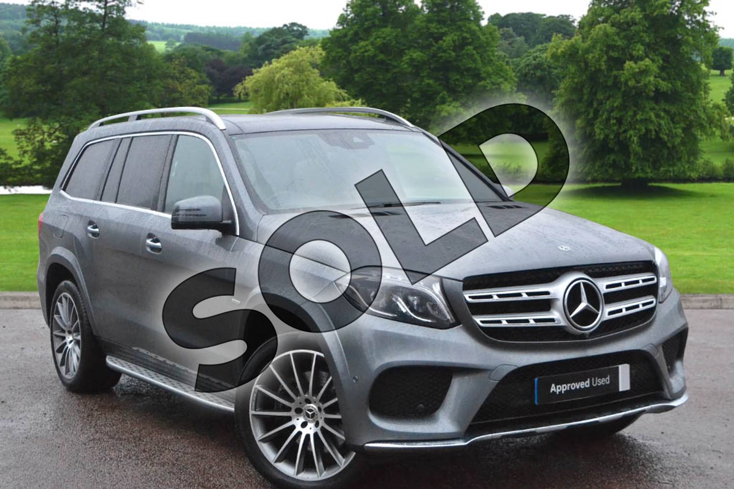 2019 Mercedes-Benz GLS Estate Special Edition GLS 350d 4Matic Grand Edition 5dr 9G-Tronic in selenite grey metallic at Mercedes-Benz of Grimsby