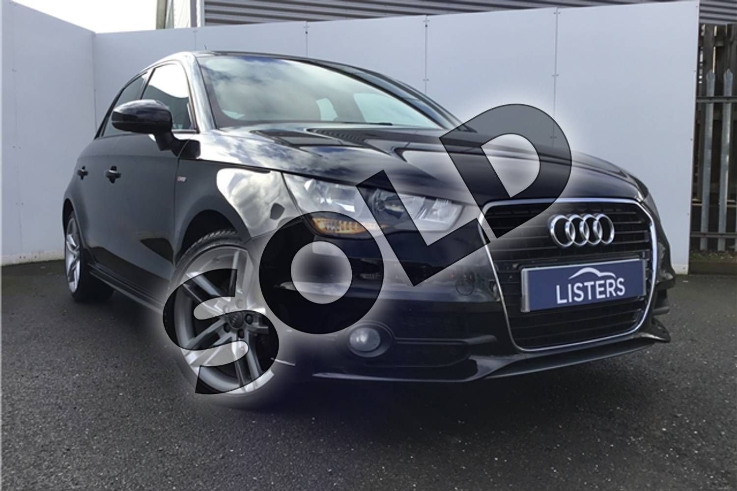 2013 Audi A1 Sportback 1.4 TFSI S Line 5dr in Metallic - Mythos black at Listers U Solihull