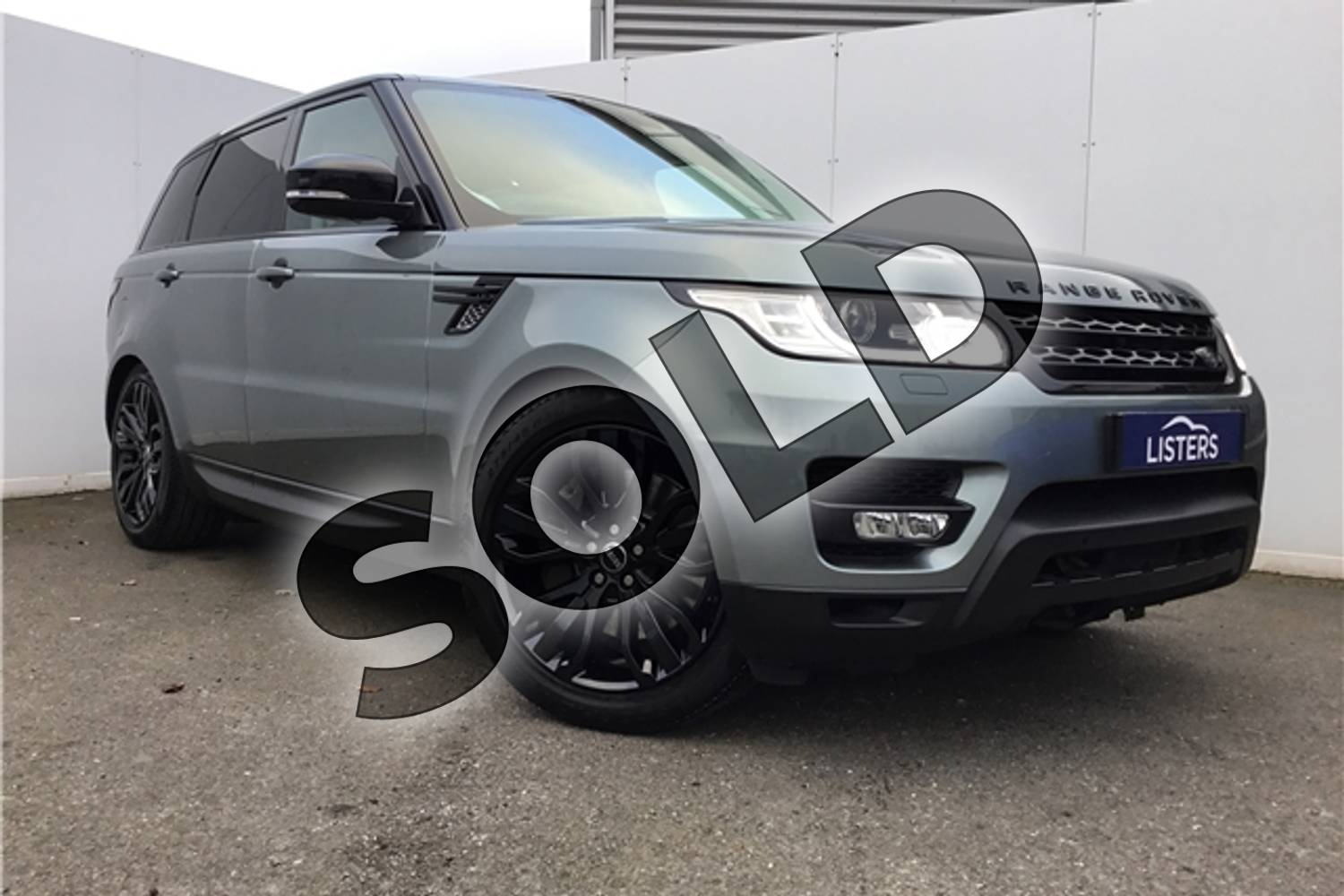2015 Range Rover Sport Diesel Estate 3.0 SDV6 (306) HSE Dynamic 5dr Auto (7 seat) in Metallic - Scotia grey at Listers U Solihull
