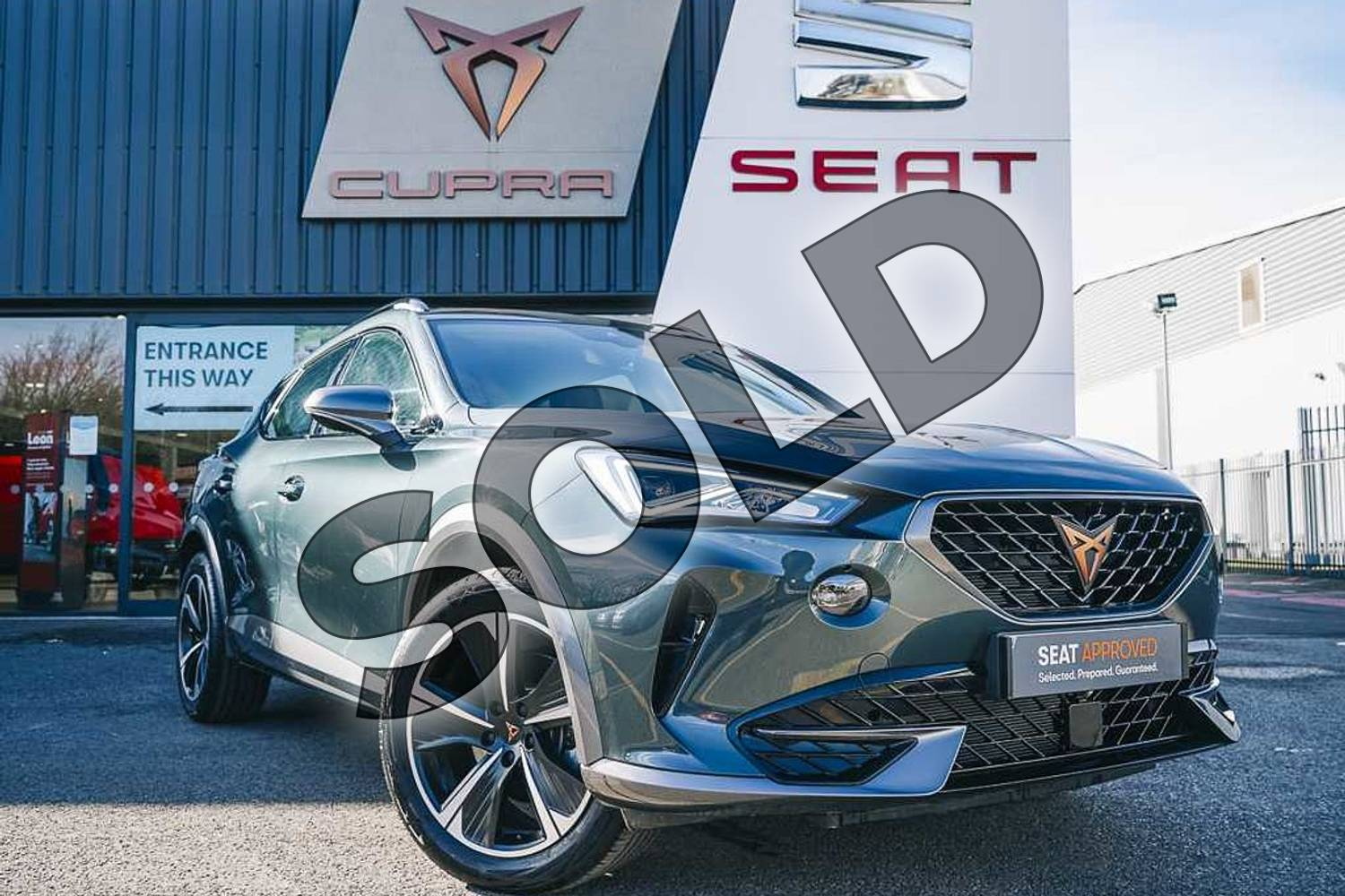 2021 Cupra Formentor Estate 1.5 TSI 150 V1 5dr DSG in Green at Listers SEAT Coventry