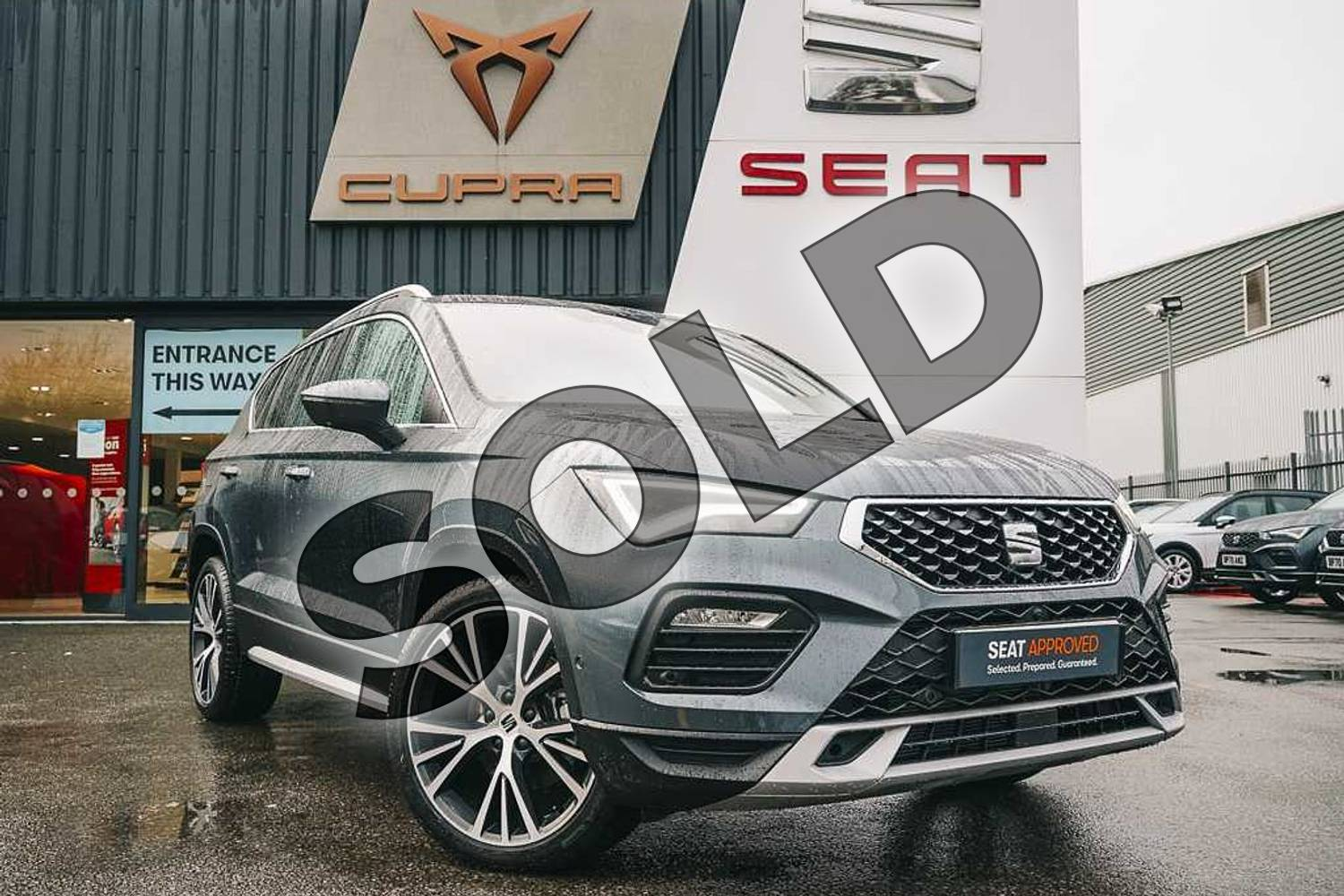 2021 SEAT Ateca 1.5 TSI Xperience Lux in Grey at Listers SEAT Coventry