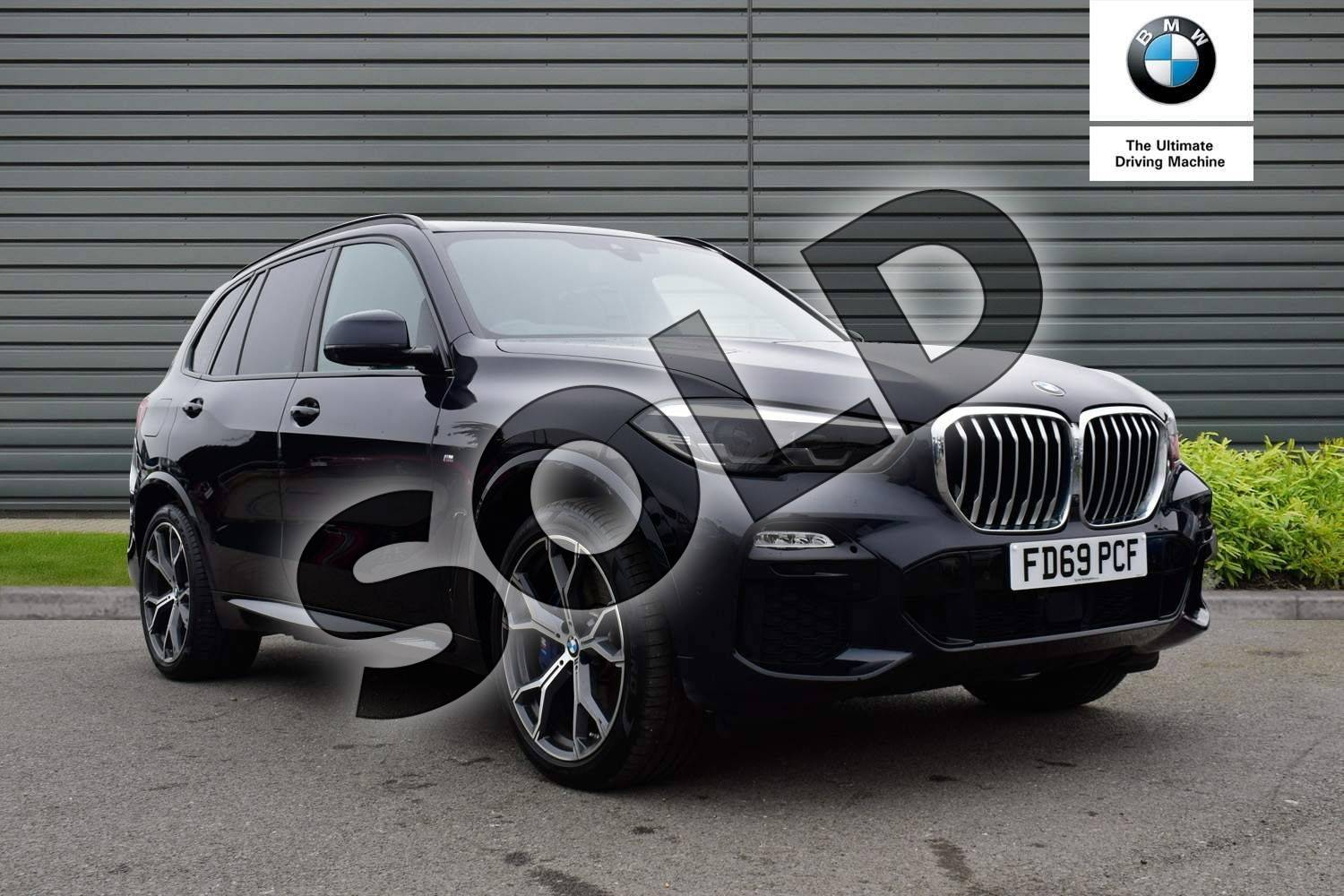 2020 BMW X5 Estate xDrive45e M Sport 5dr Auto in Carbon Black at Listers Boston (BMW)