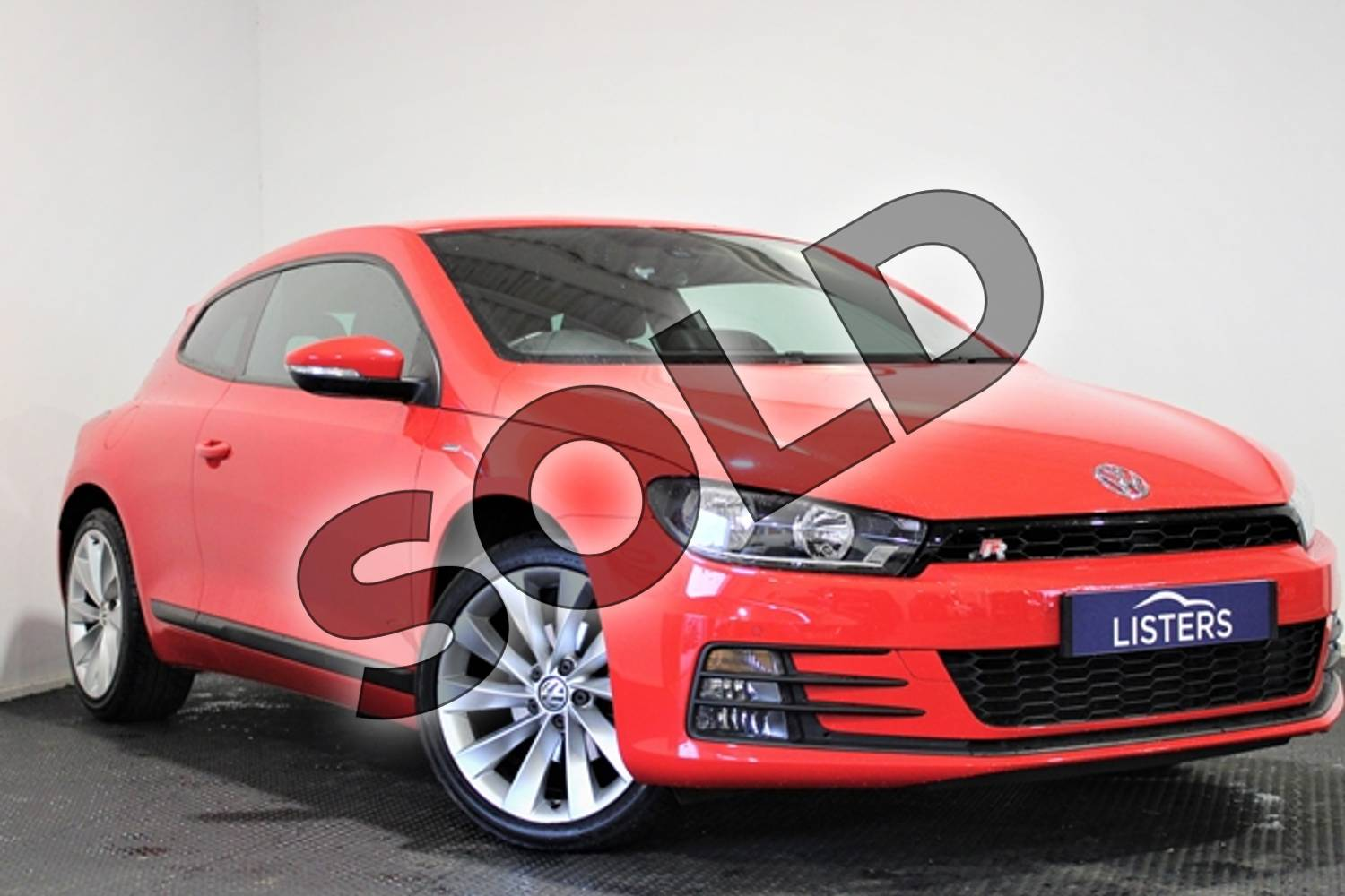 2016 Volkswagen Scirocco Diesel Coupe 2.0 TDI BlueMotion Tech GT 3dr in Special solid - Flash red at Listers U Stratford-upon-Avon