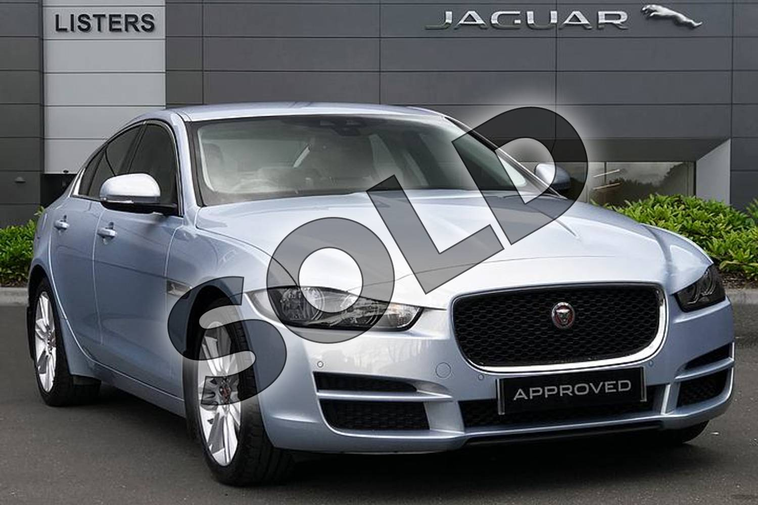 2016 Jaguar XE 2.0 i4 Diesel (180PS) Prestige in Osmium at Listers Jaguar Droitwich