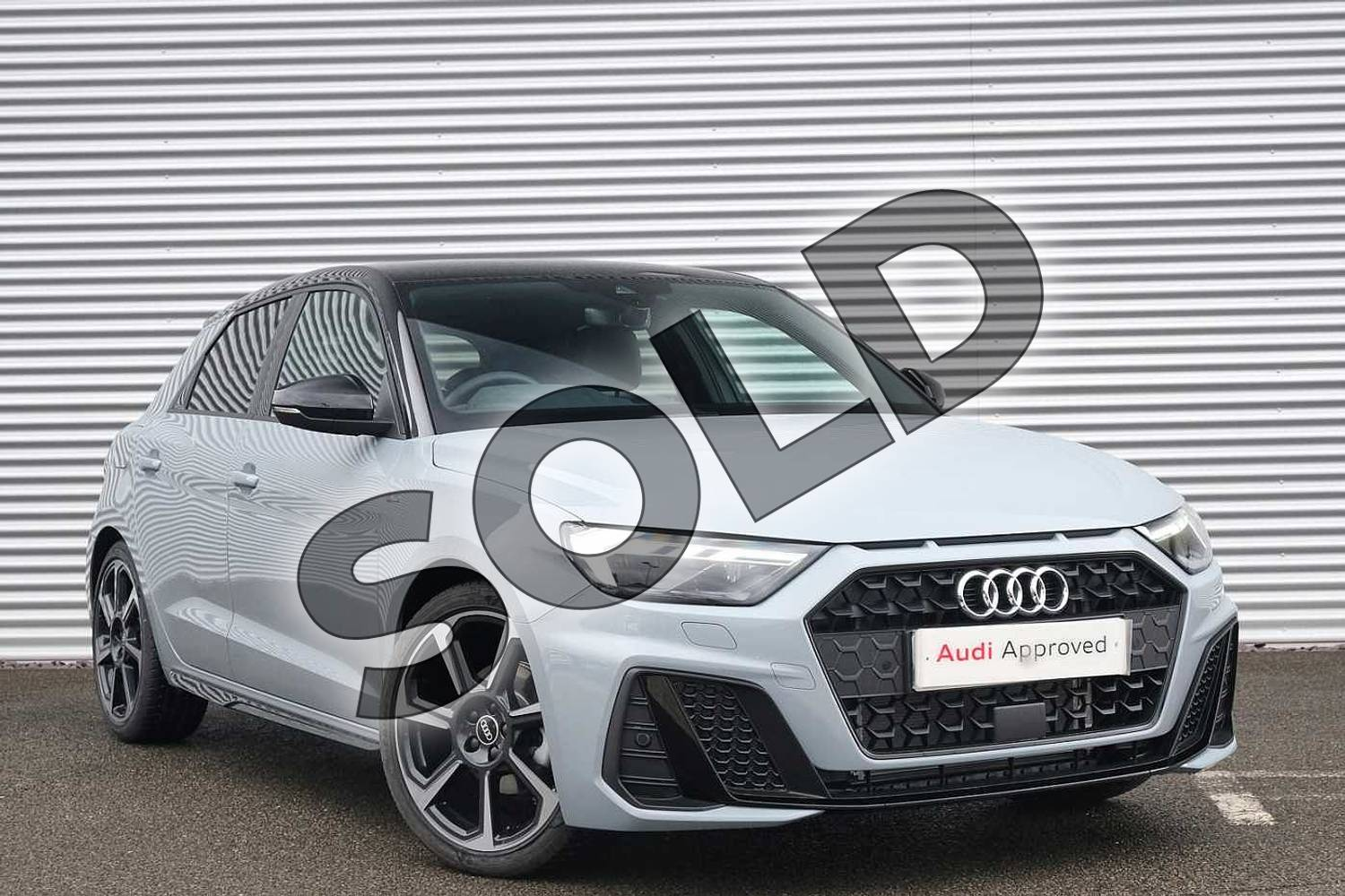 2021 Audi A1 Sportback 35 TFSI Black Edition 5dr S Tronic in Arrow Grey Pearlescent at Coventry Audi