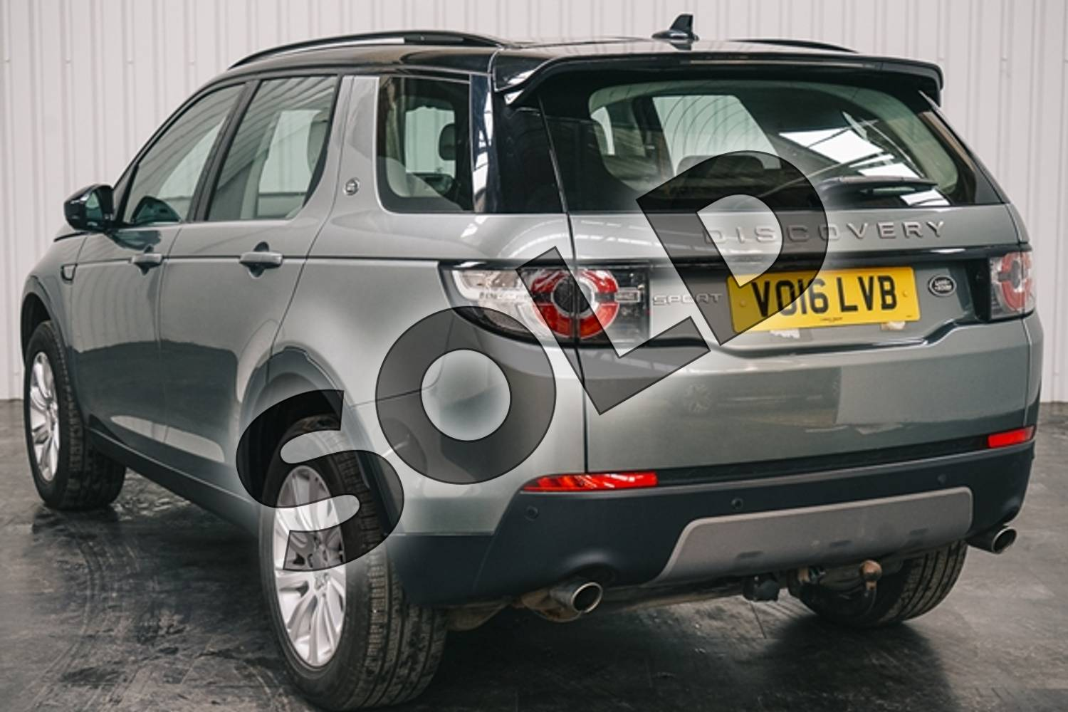 2016 Land Rover Discovery Sport Diesel SW 2.0 TD4 180 SE Tech 5dr Auto in Metallic - Corris grey at Listers Jaguar Solihull